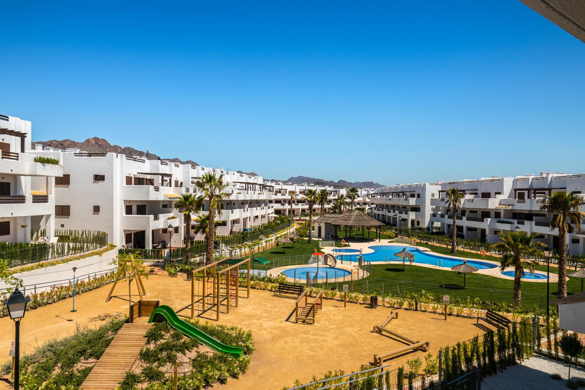 Sal, Large and nice apartment in San Juan de los Terreros, Andalusia, Spain  with communal pool for 4 persons.....
