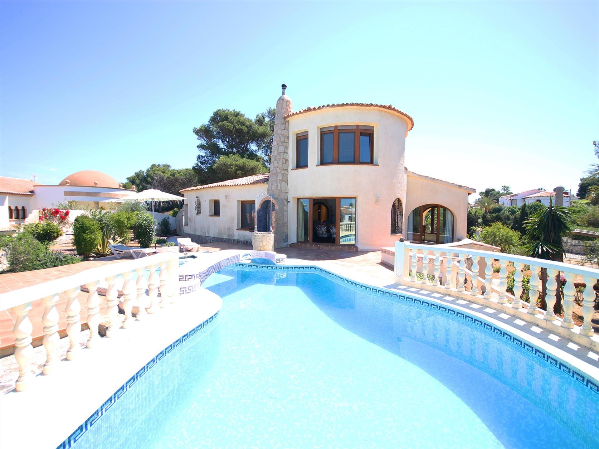 NIELSEN, Large and nice villa  with private pool in Javea, on the Costa Blanca, Spain for 6 persons...