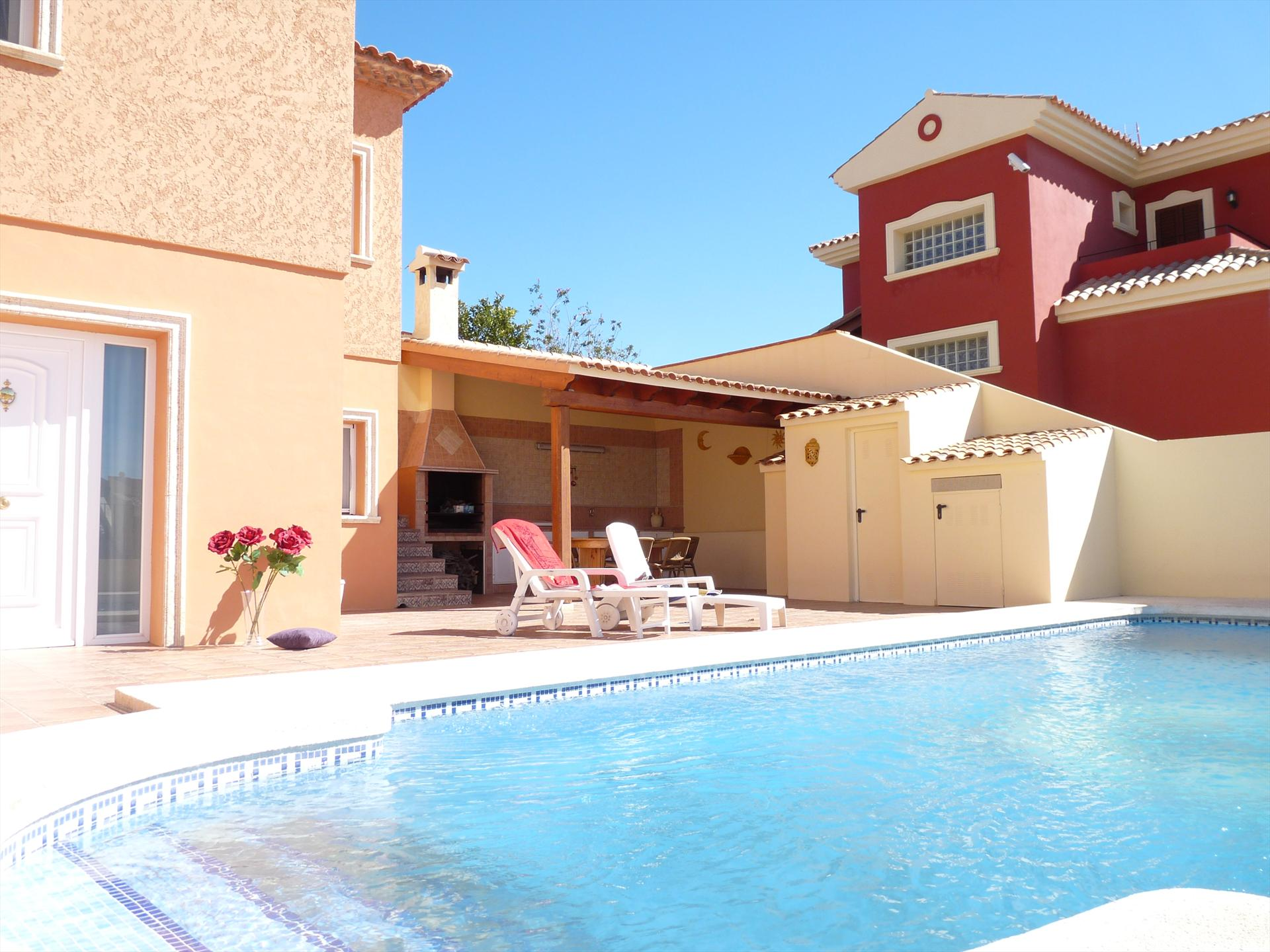 Apartamento Marinette, Beautiful apartment  with private pool in La Nucia, on the Costa Blanca, Spain for 4 persons.....