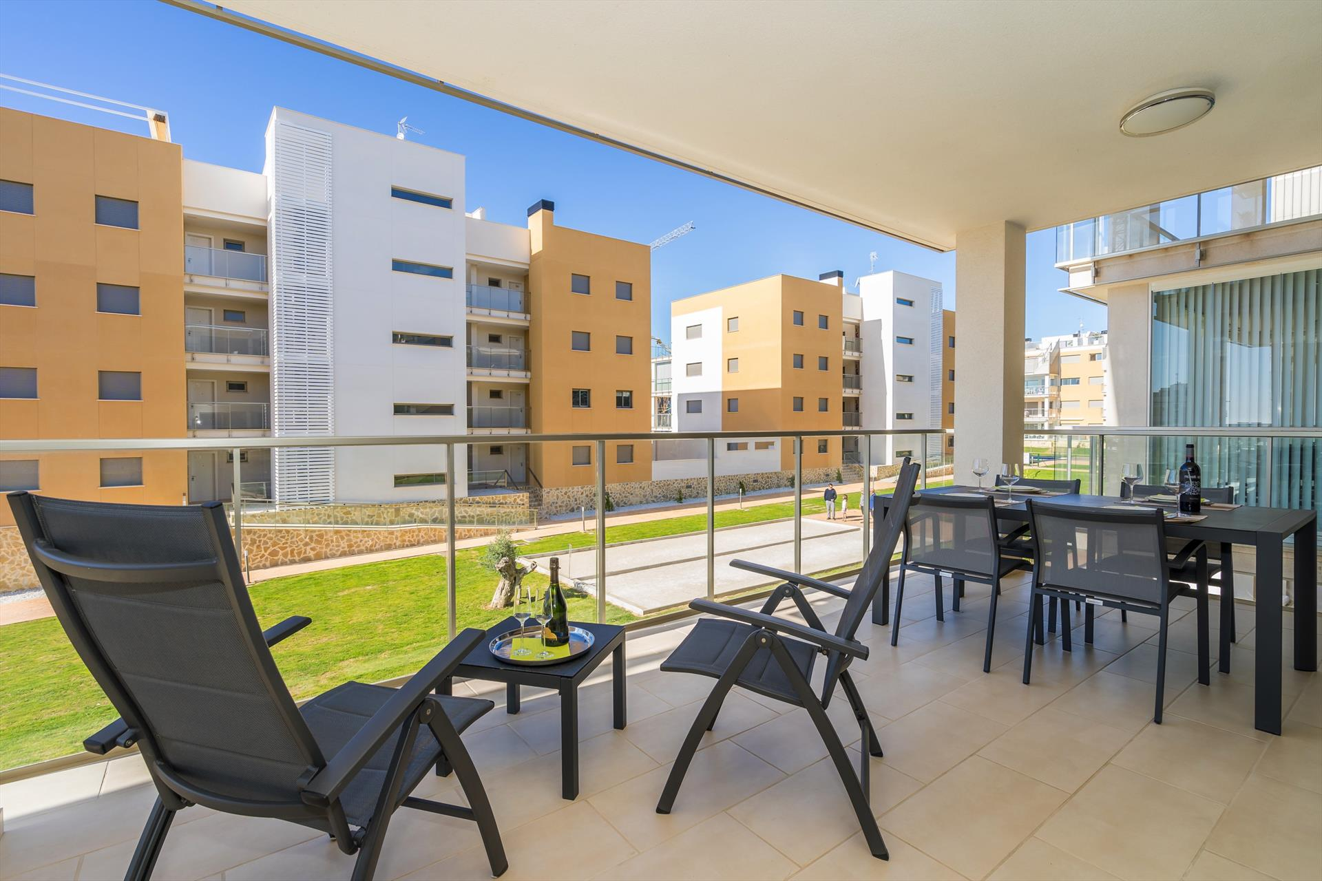 Canela, Modern apartment  with communal pool in Orihuela Costa, on the Costa Blanca, Spain for 4 persons.....
