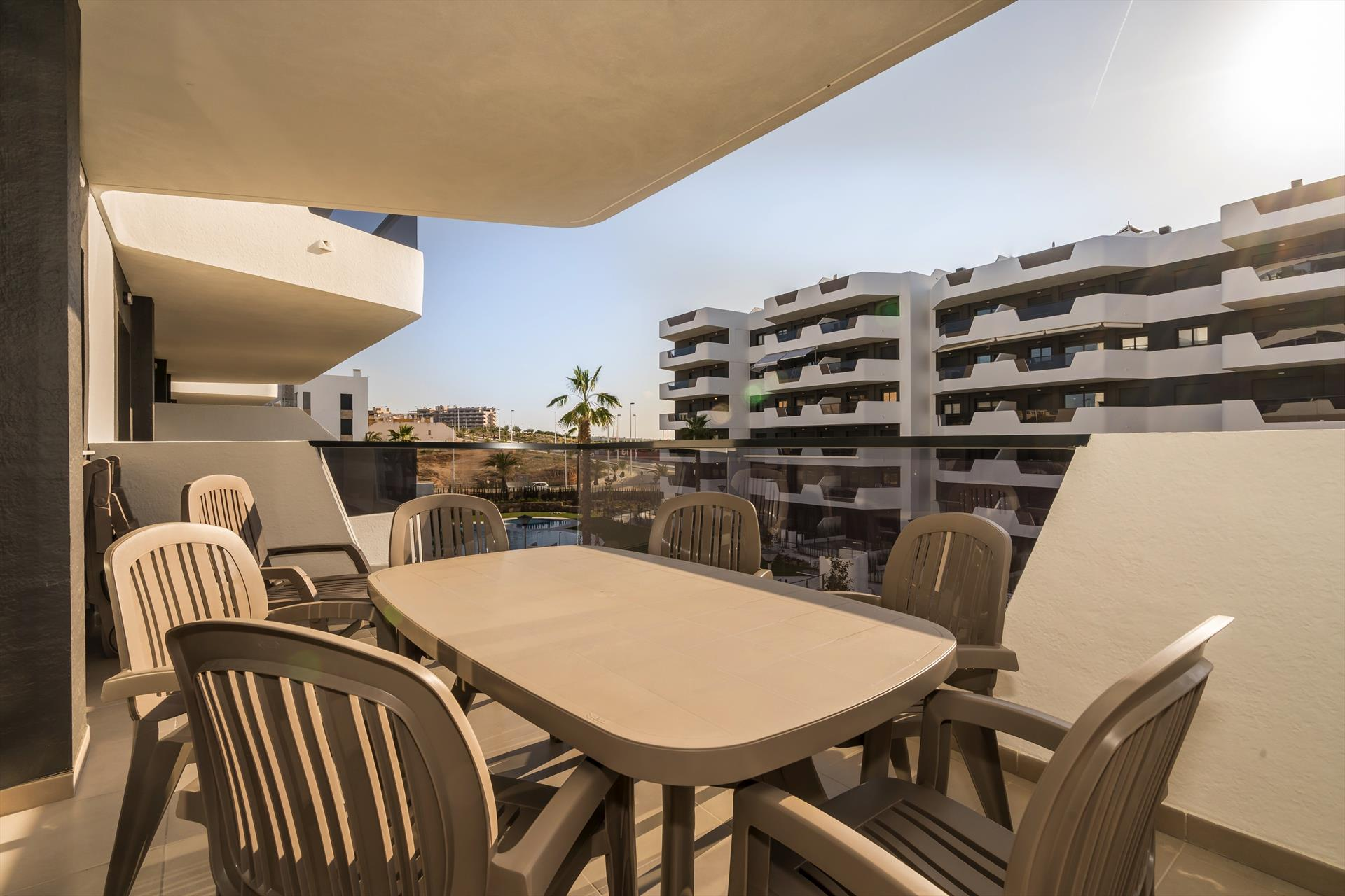Arenales,Wonderful apartment in Arenales Del Sol, on the Costa Blanca, Spain  with communal pool for 4 persons.....
