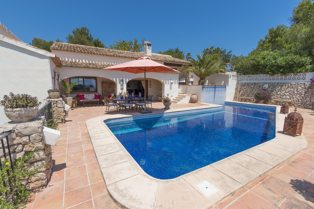 Vistaifach, Villa in Benissa, on the Costa Blanca, Spain  with private pool for 6 persons...