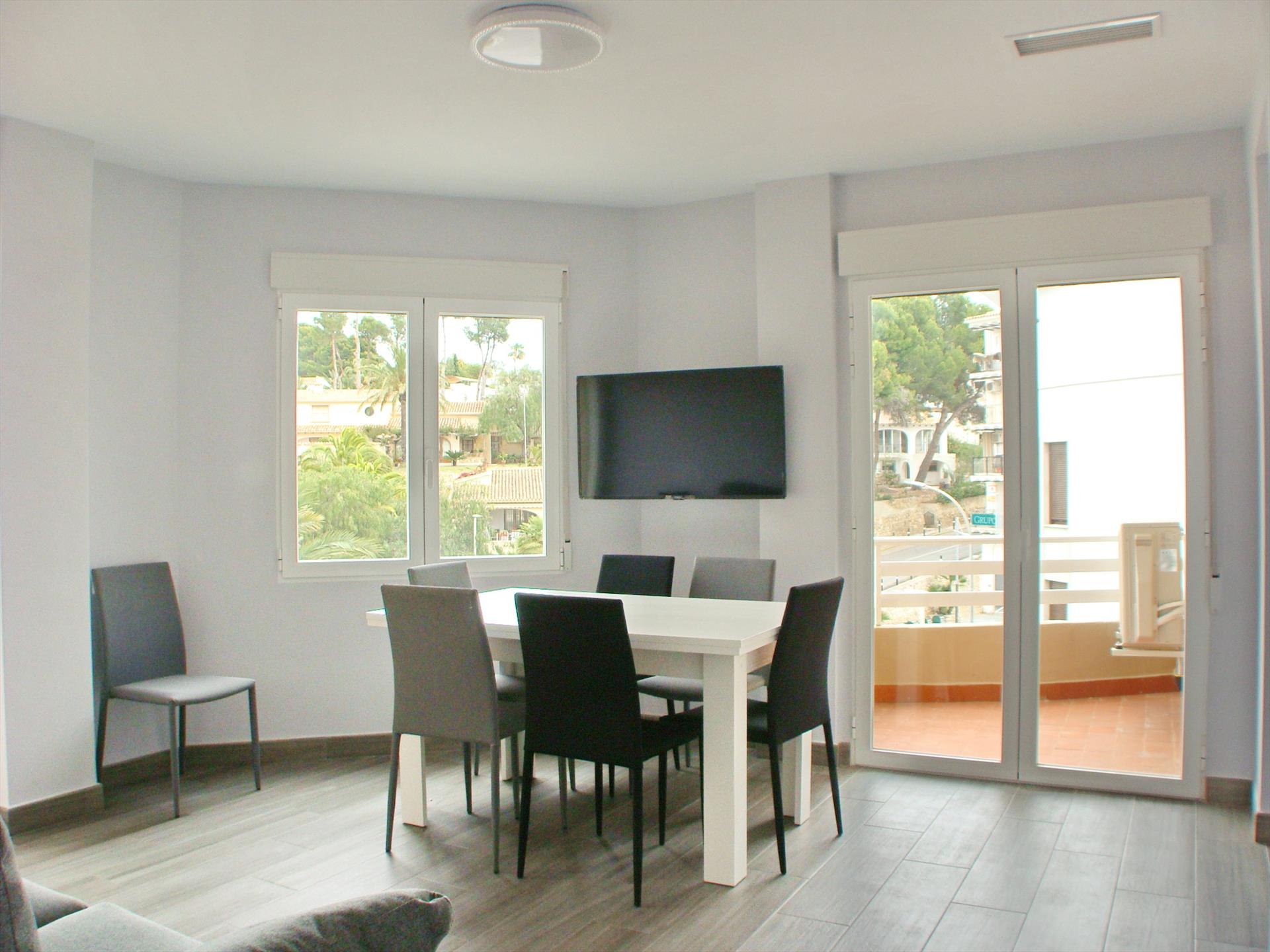 Brisa del Mar Solidays, Large and comfortable apartment in Moraira, on the Costa Blanca, Spain for 4 persons.....