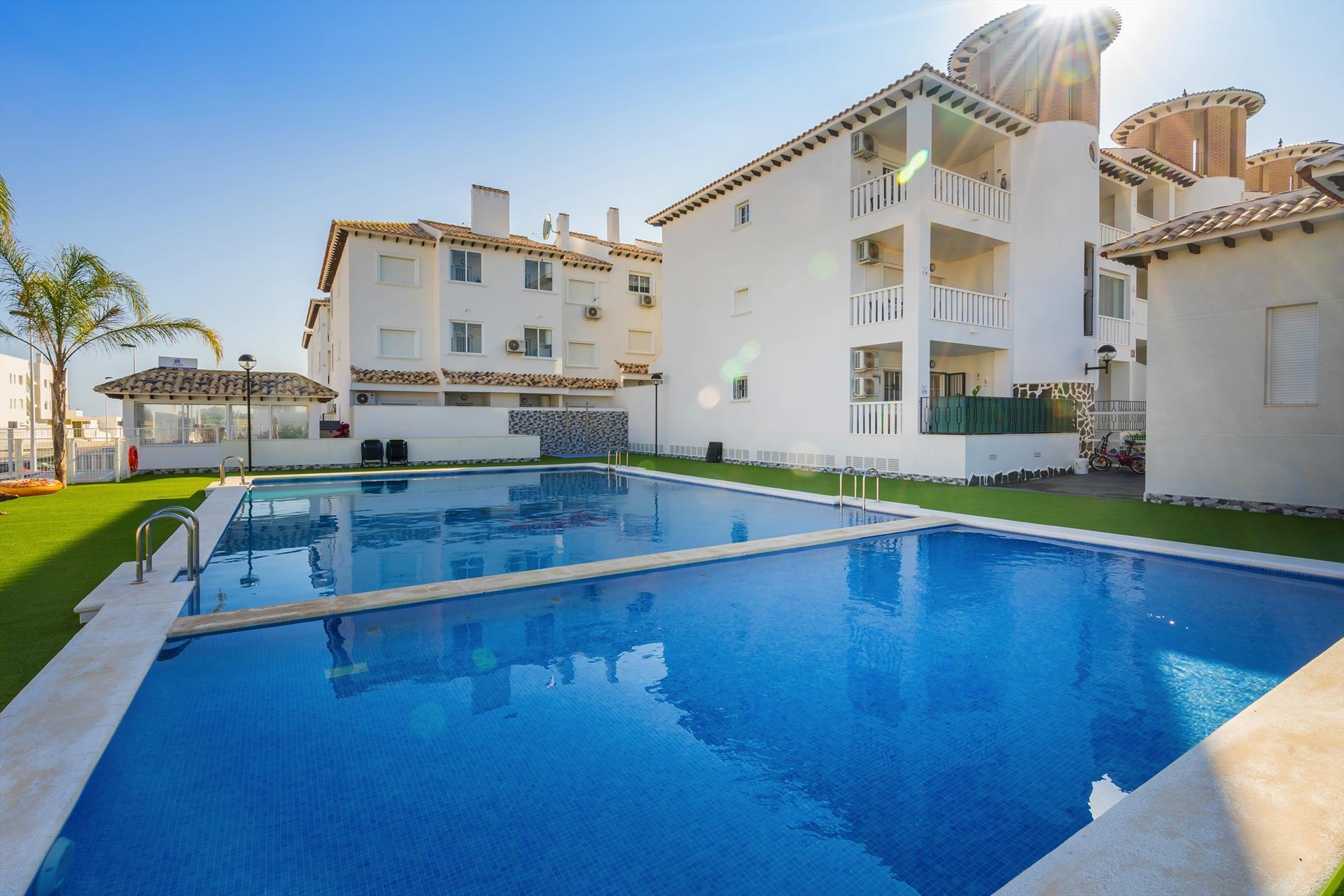 La Marina,Rustic apartment in La Marina-Elche, on the Costa Blanca, Spain for 4 persons.....