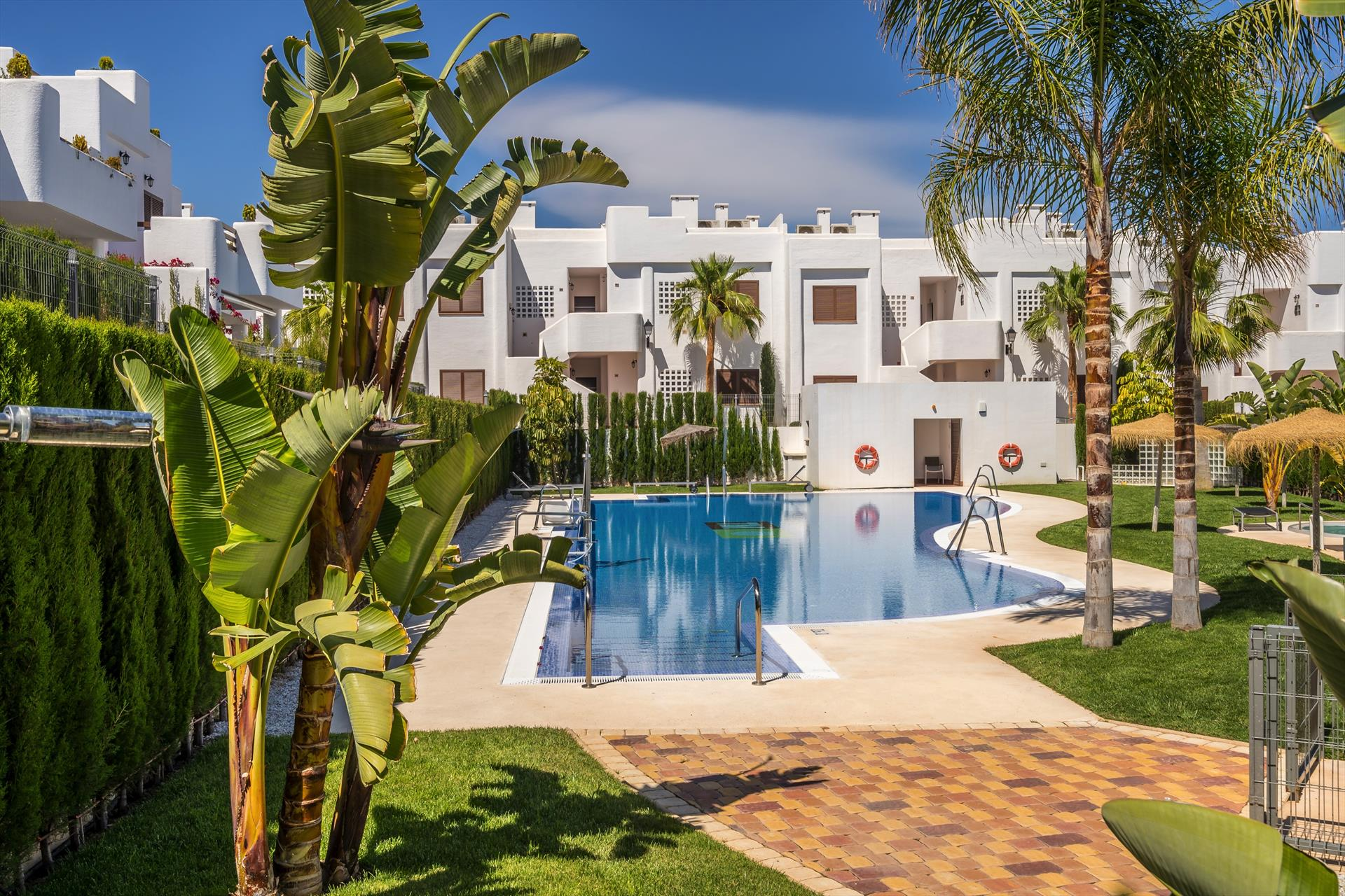 Pino,Lovely and cheerful apartment  with communal pool in San Juan de los Terreros, Andalusia, Spain for 4 persons.....