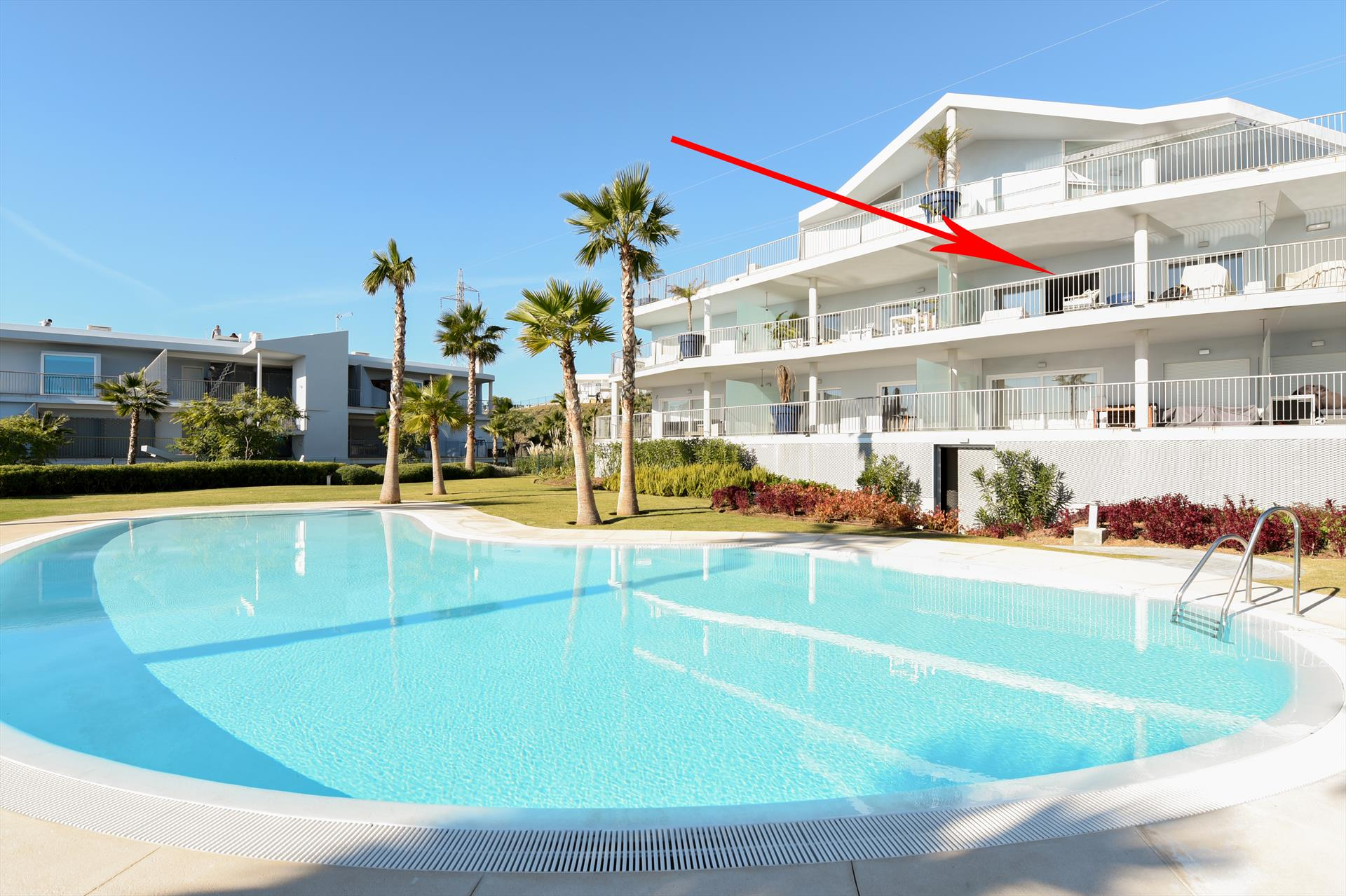 South Beach 1, Beautiful and luxury apartment  with communal pool in Fuengirola, Andalusia, Spain for 4 persons...