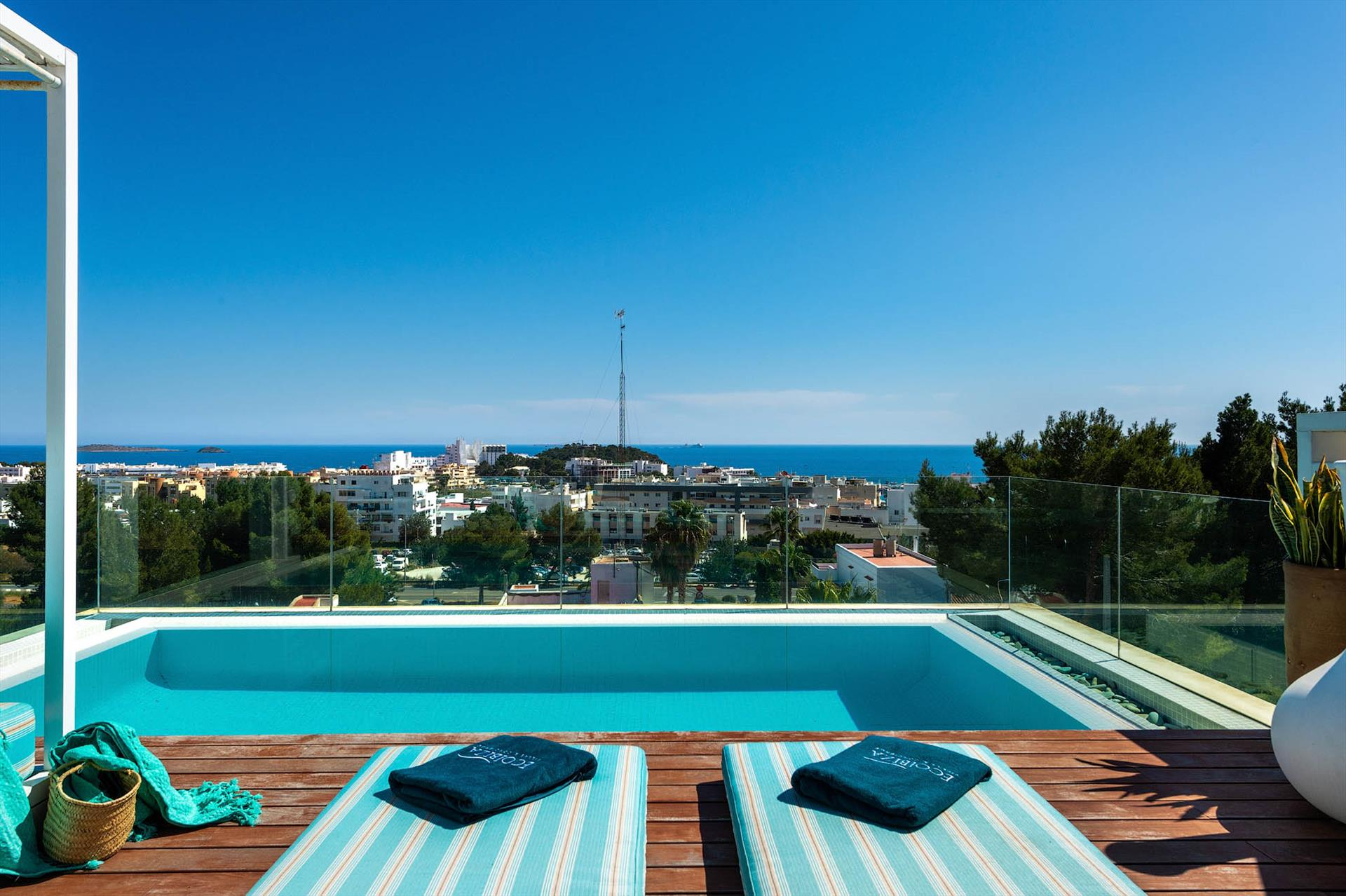 Can Sere, Villa  with private pool in Santa Eulalia, Ibiza, Spain for 6 persons...