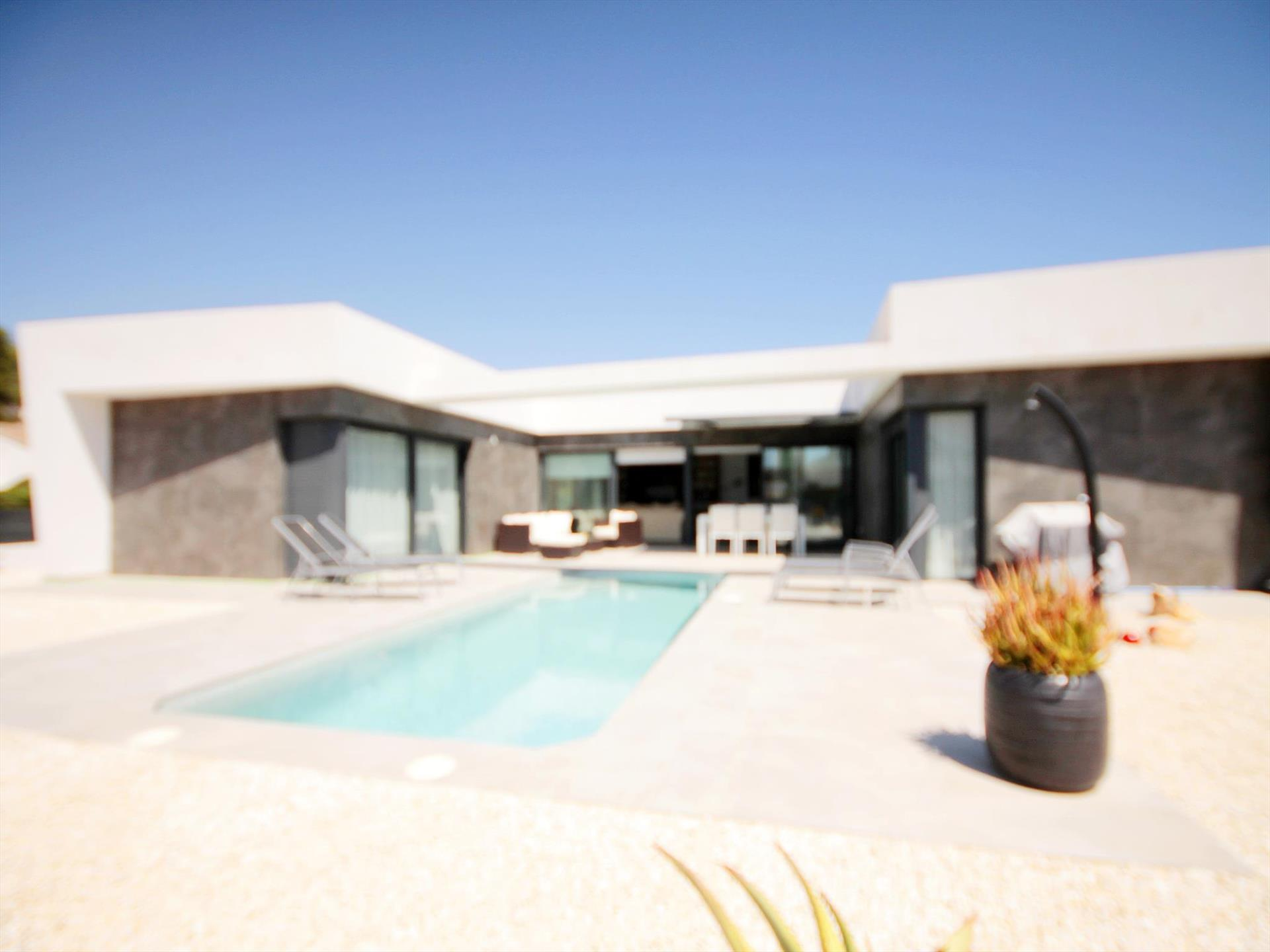 GARSETA, Modern and  luxury villa in Javea, on the Costa Blanca, Spain  with private pool for 6 persons.....