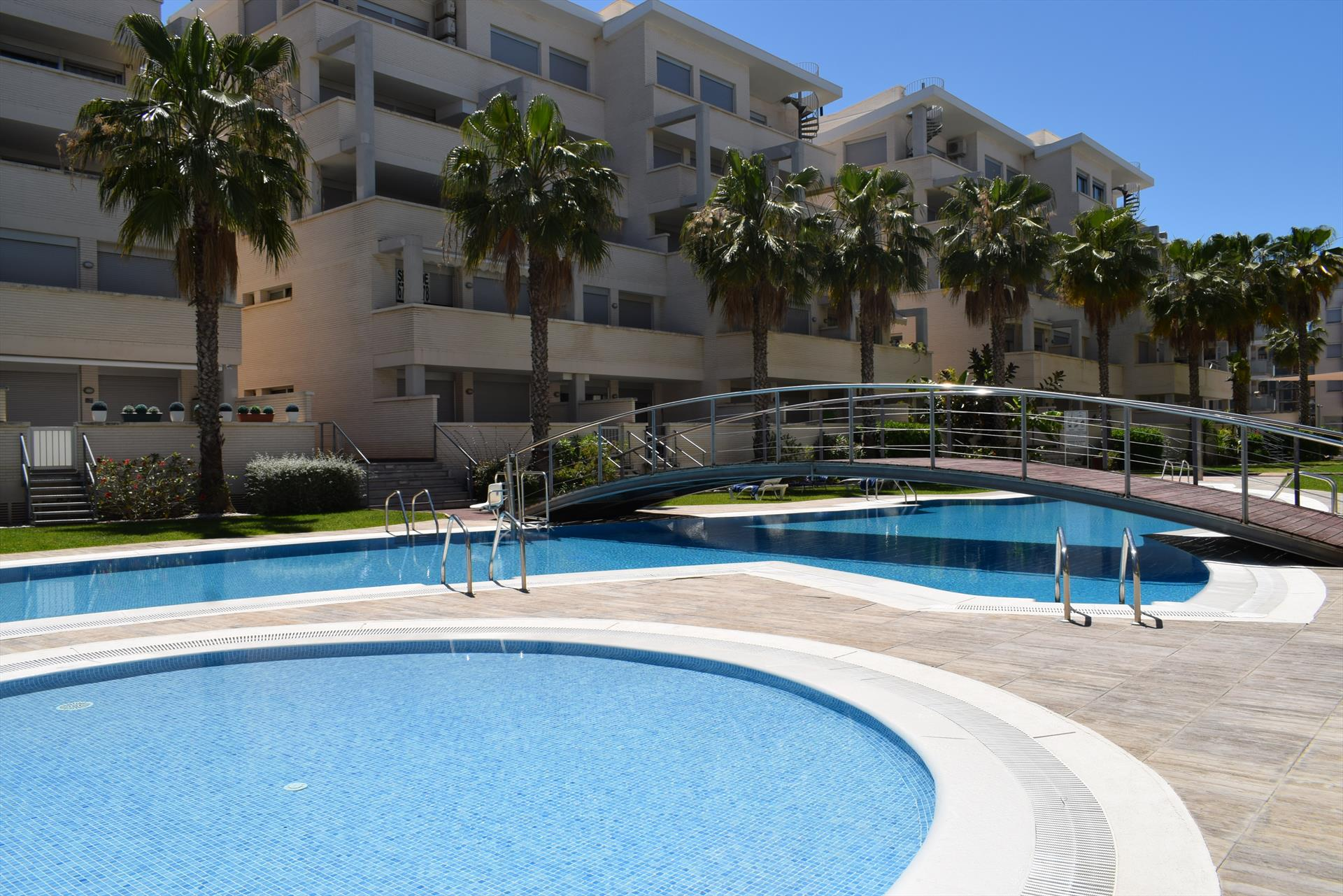 PB2203 Elegance Assagador Marjal, Beautiful and comfortable apartment  with communal pool in Denia, on the Costa Blanca, Spain for 4 persons.....