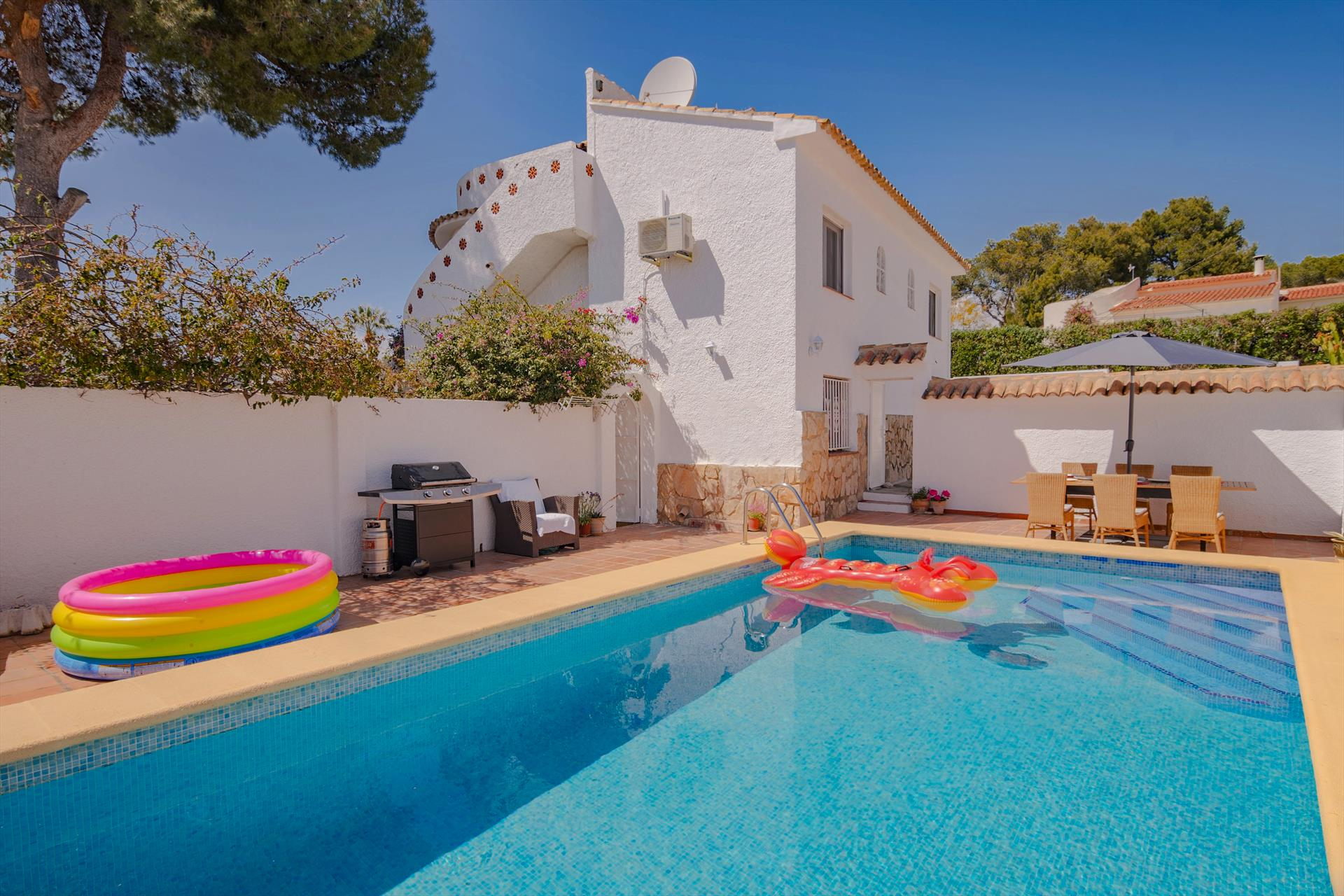 Rita, Villa  with private pool in Benissa, on the Costa Blanca, Spain for 4 persons.....