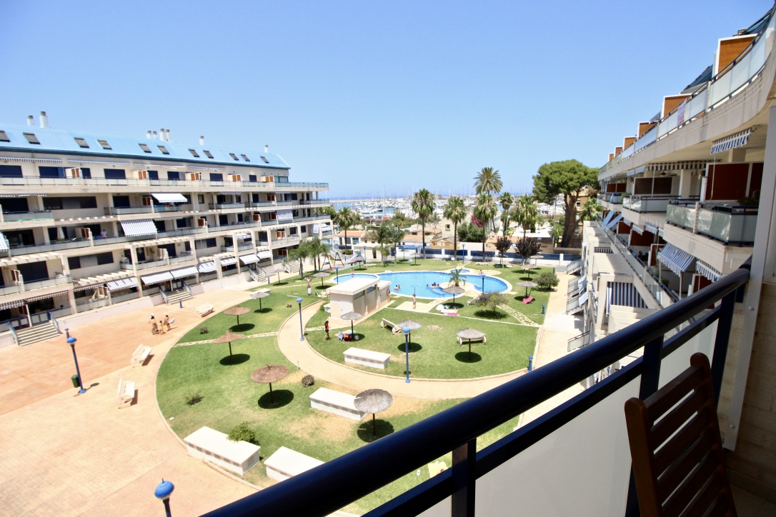 Sueños del Mar 70, Beautiful apartment  with communal pool in Denia, on the Costa Blanca, Spain for 4 persons.....