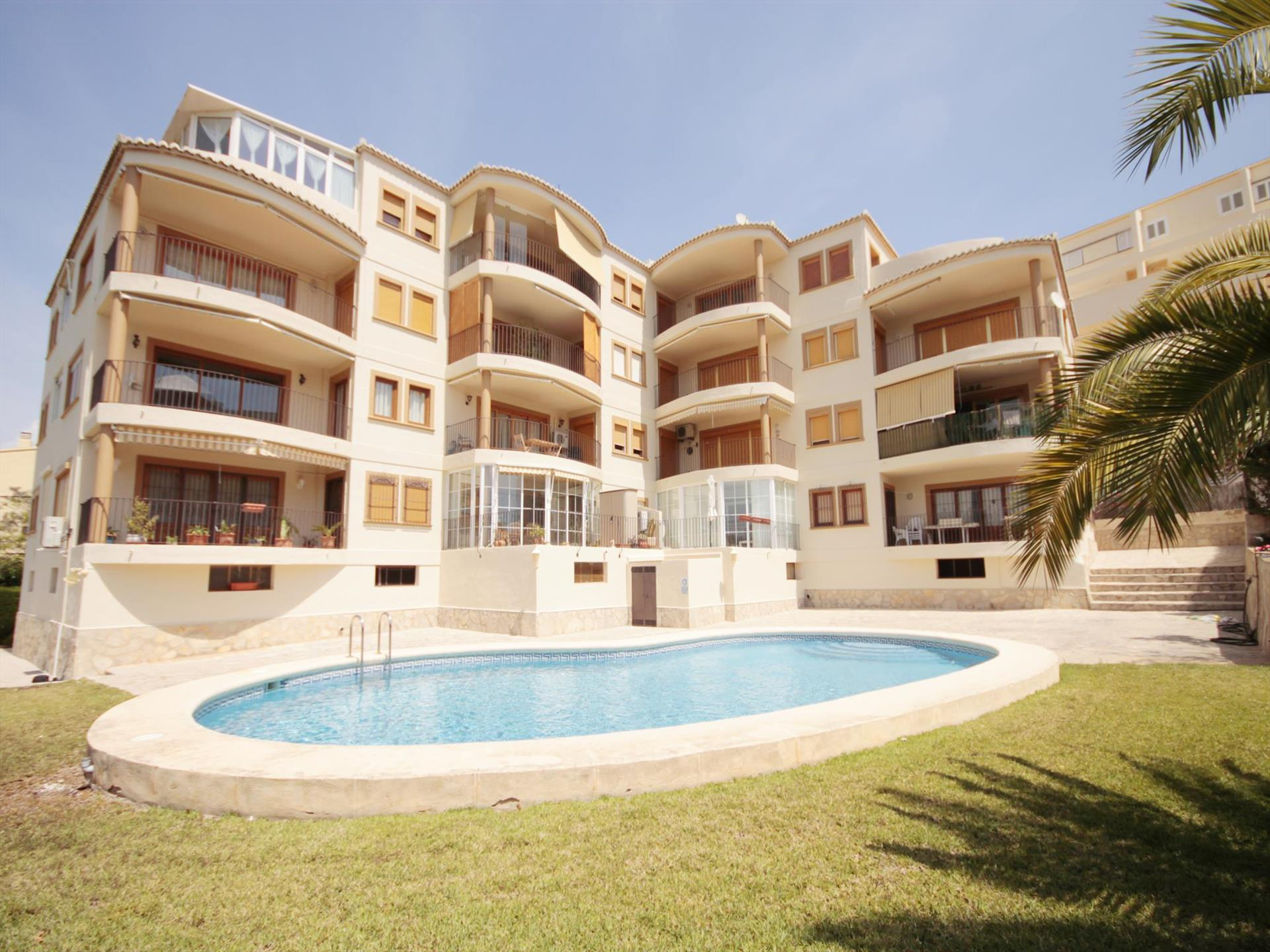 SALADAR 7, Beautiful and comfortable apartment in Javea, on the Costa Blanca, Spain for 7 persons...