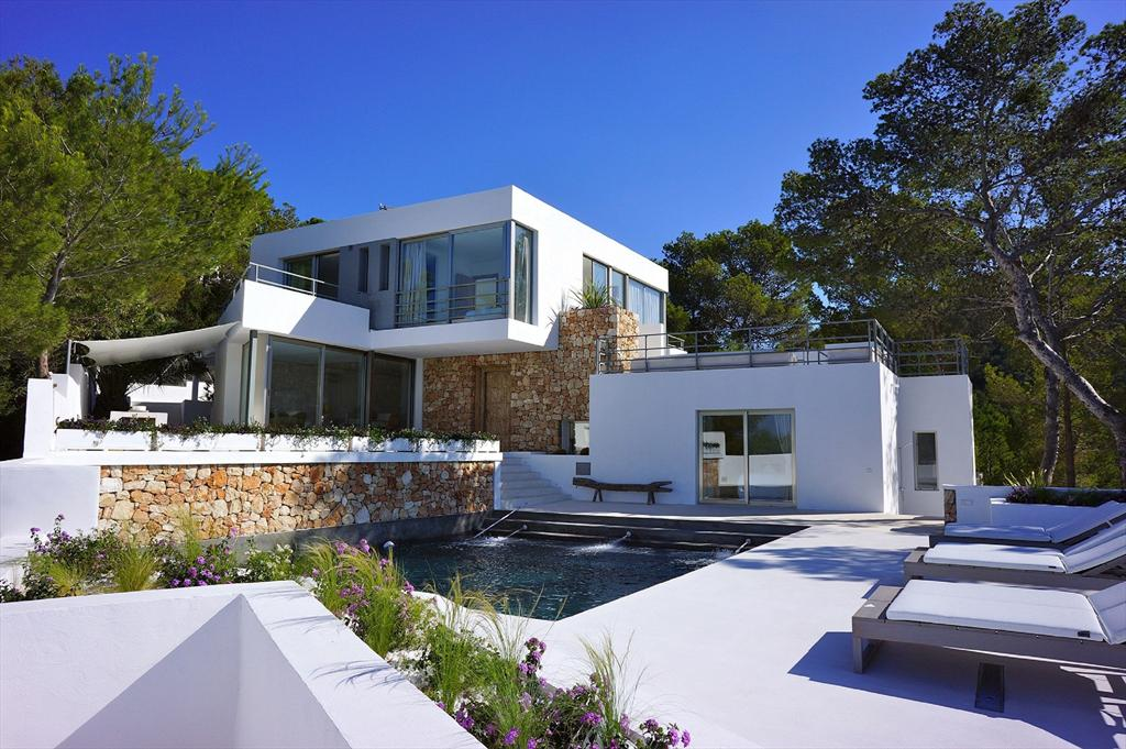 Sant josep amazing views, Large villa in Sant Josep de sa Talaia, Mallorca, Spain  with private pool for 13 persons...