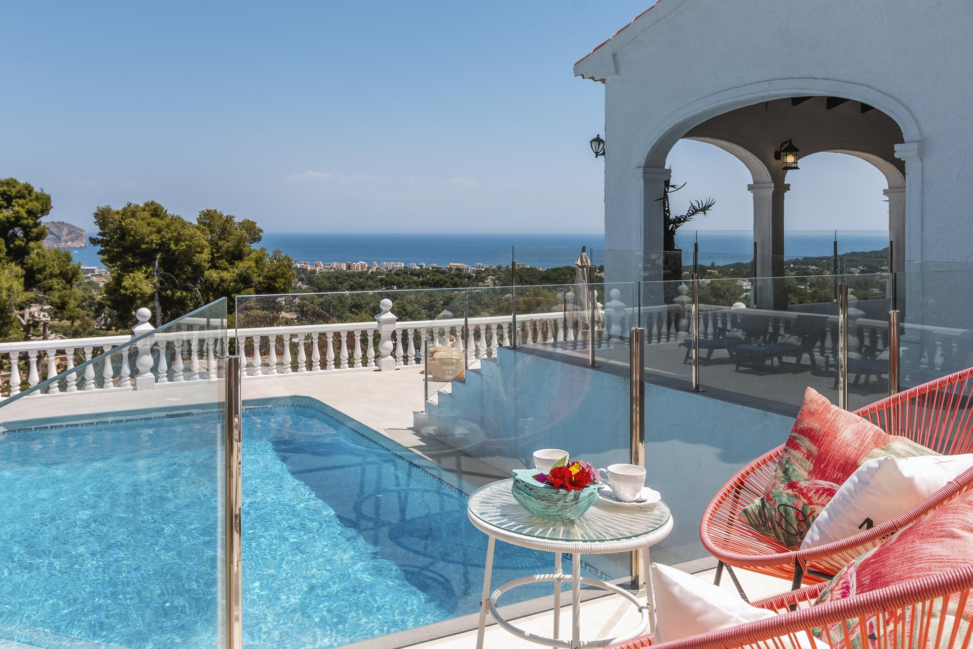 Martinica 8 pax, Villa in Javea, on the Costa Blanca, Spain  with private pool for 8 persons...