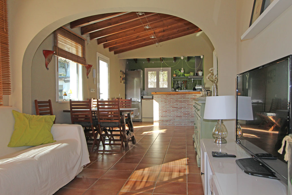 Villa Ana 4,Wonderful and comfortable villa  with private pool in Moraira, on the Costa Blanca, Spain for 4 persons.....