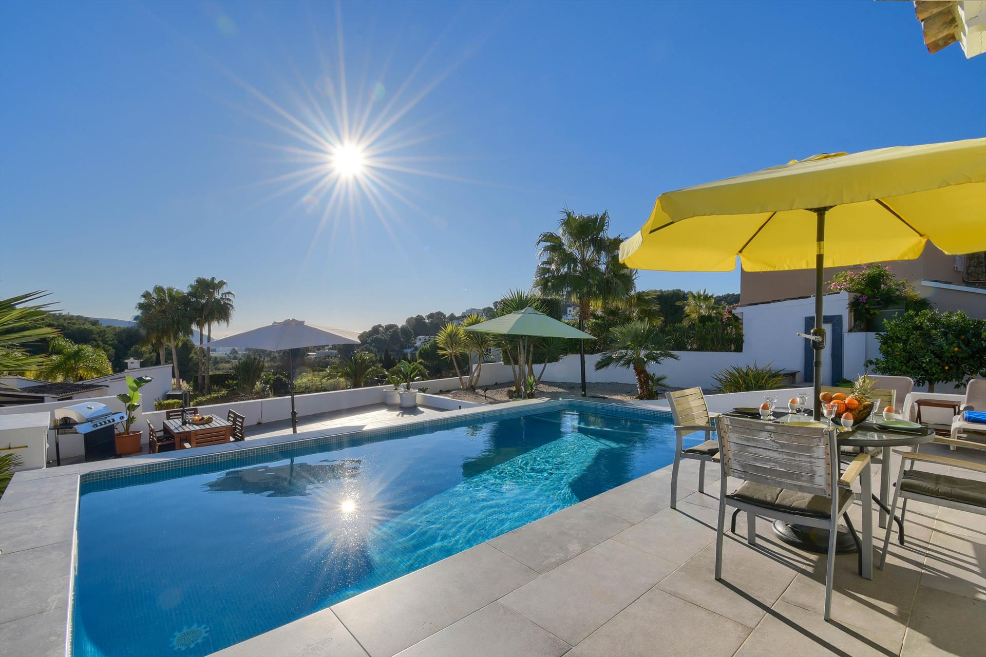 Mi Sueño, Villa  with private pool in Moraira, on the Costa Blanca, Spain for 6 persons...