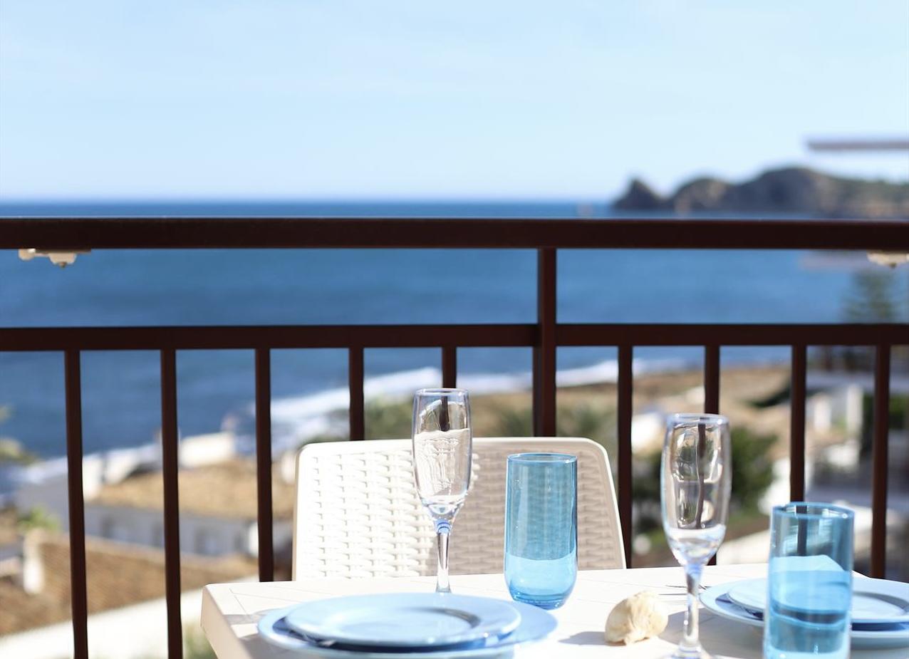 Vistas al mar Cofisa,Liebliche und komfortable Ferienwohnung  mit Gemeinschaftspool in Javea, an der Costa Blanca, Spanien für 4 Personen.....