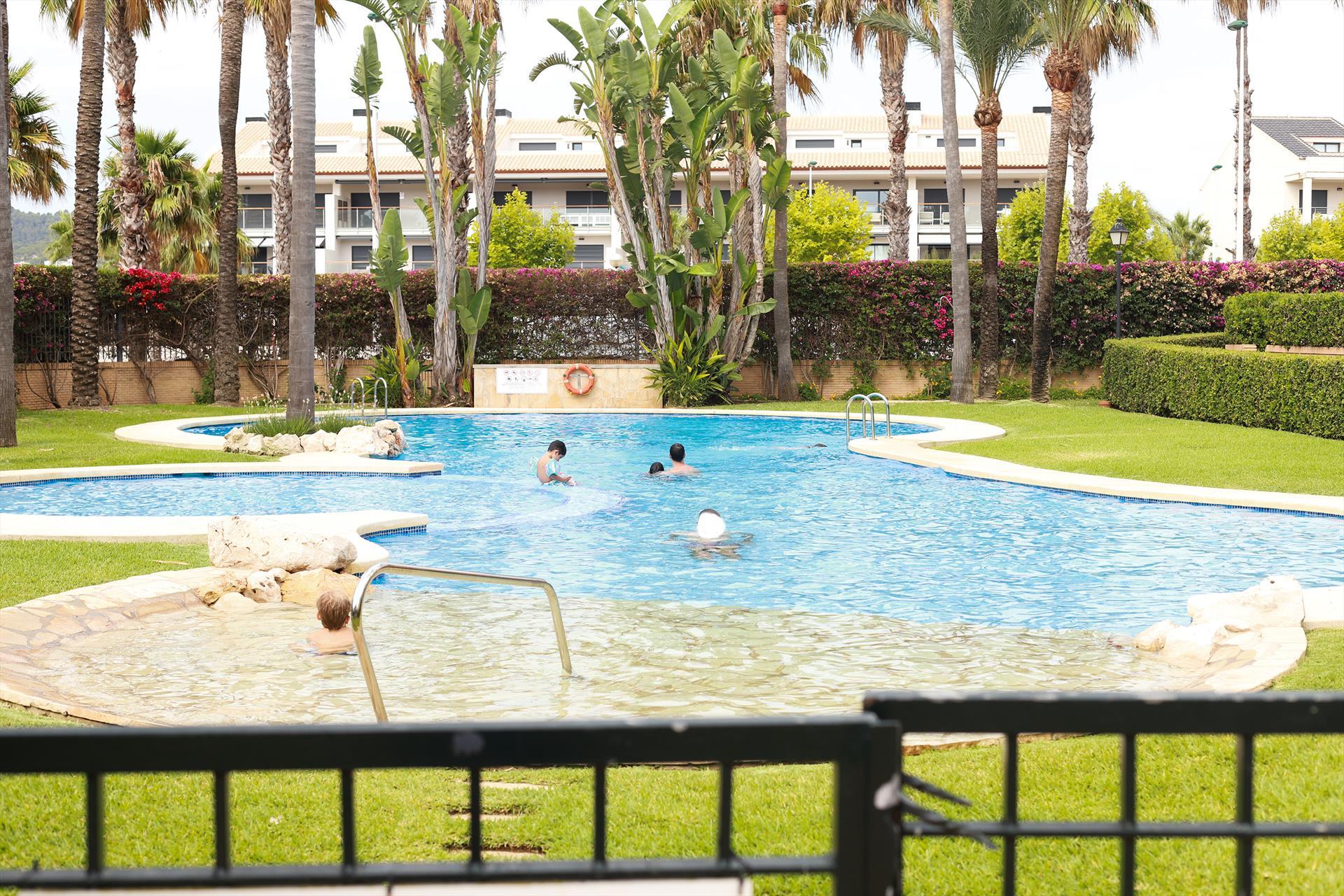 Altamar Planta Baja,Moderne und schöne Ferienwohnung  mit Gemeinschaftspool in Javea, an der Costa Blanca, Spanien für 6 Personen.....