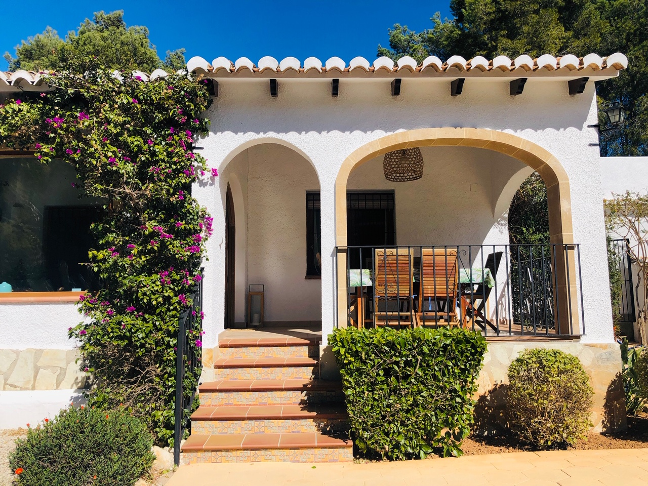Entrepinos,Wonderful and comfortable holiday house in Javea, on the Costa Blanca, Spain for 6 persons.....