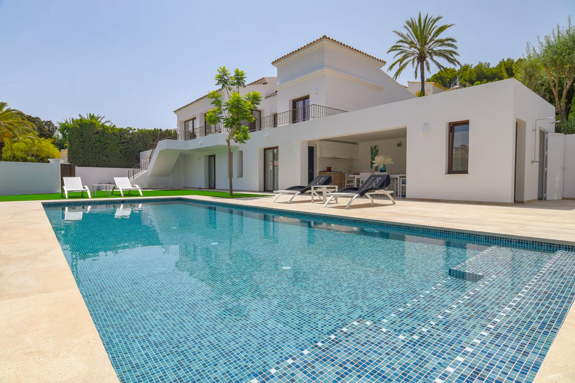 Amipa, Modern and  luxury villa in Moraira, on the Costa Blanca, Spain  with heated pool for 6 persons.....