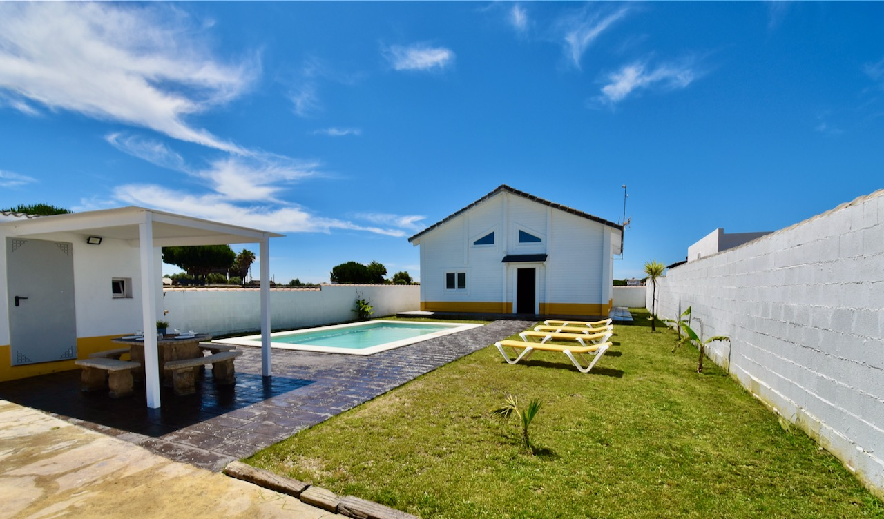 Pinocho, Villa  with private pool in Chiclana de la Frontera, Andalusia, Spain for 6 persons.....