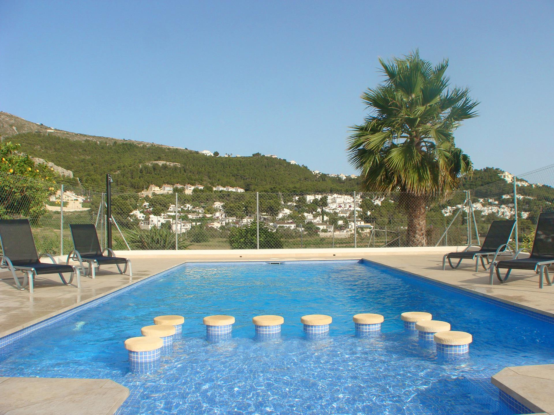 Villa El Refugio, Large and classic villa  with private pool in Benitachell, on the Costa Blanca, Spain for 8 persons.....