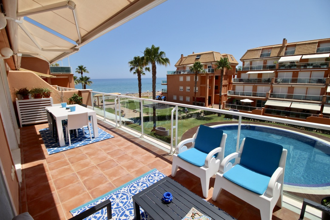 Mirador al mar 72, Beautiful and comfortable apartment in Denia, on the Costa Blanca, Spain  with communal pool for 4 persons.....