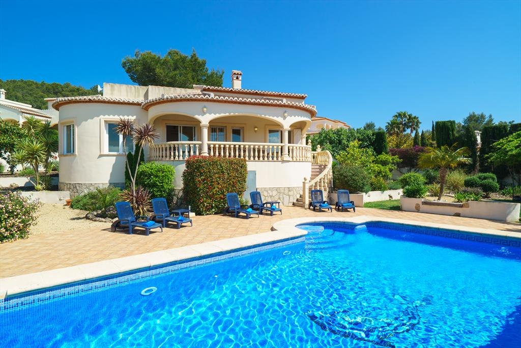 Casa Rio 6 pax, Large and nice villa  with heated pool in Javea, on the Costa Blanca, Spain for 6 persons.....