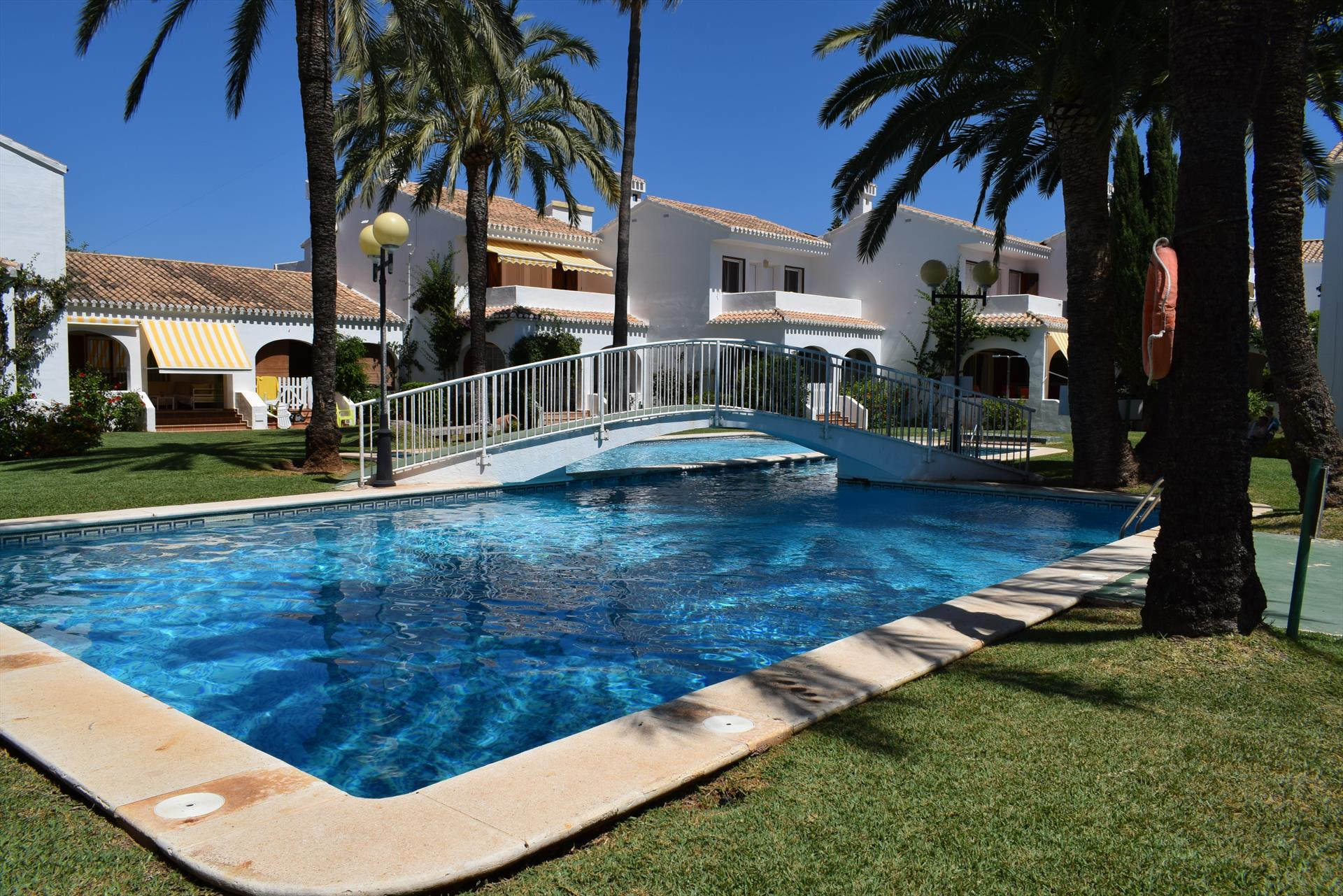 AD3203 La Escala Mar Jonica, Rustic and classic holiday house in Denia, on the Costa Blanca, Spain  with communal pool for 7 persons.....