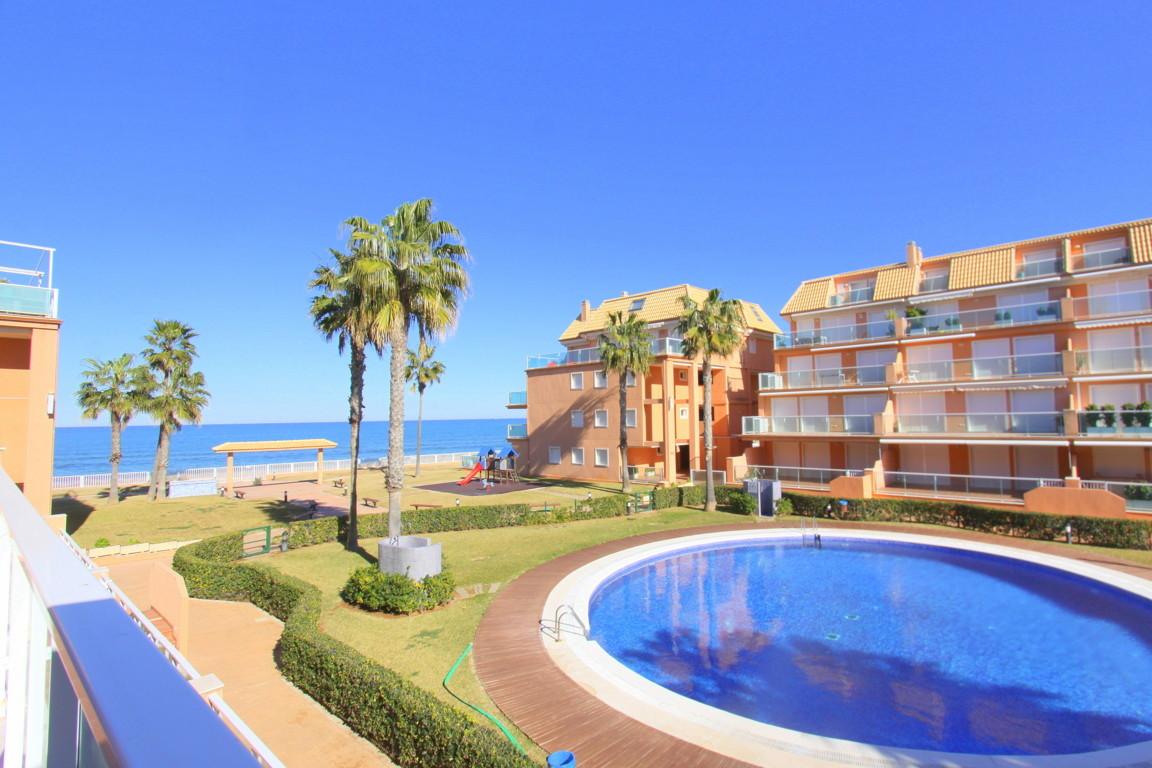 Mirador al mar apartamento,Appartement  met gemeenschappelijk zwembad in Denia, aan de Costa Blanca, Spanje voor 5 personen...