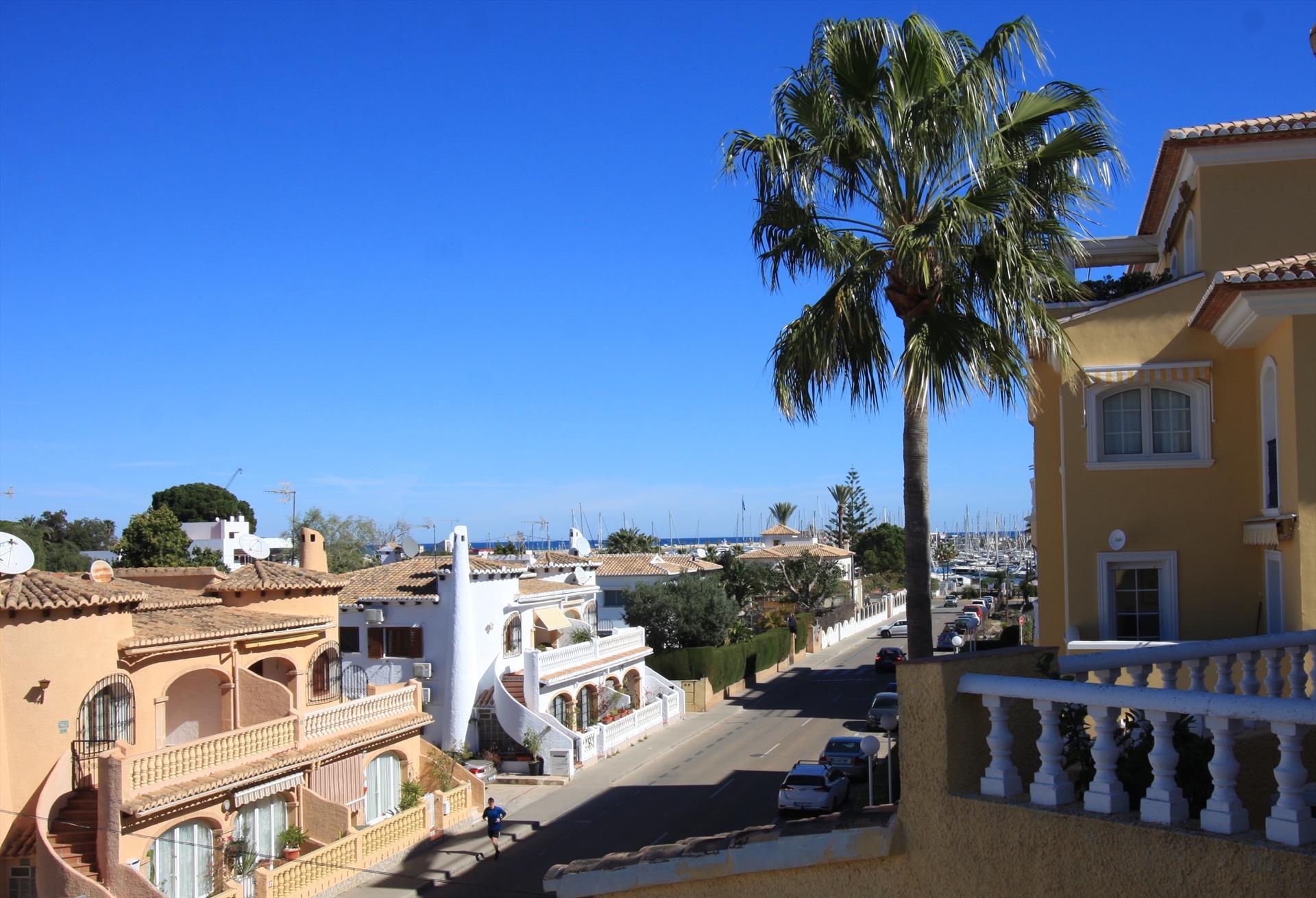 Aldebaran apartamento,Appartement in Denia, aan de Costa Blanca, Spanje  met gemeenschappelijk zwembad voor 4 personen...