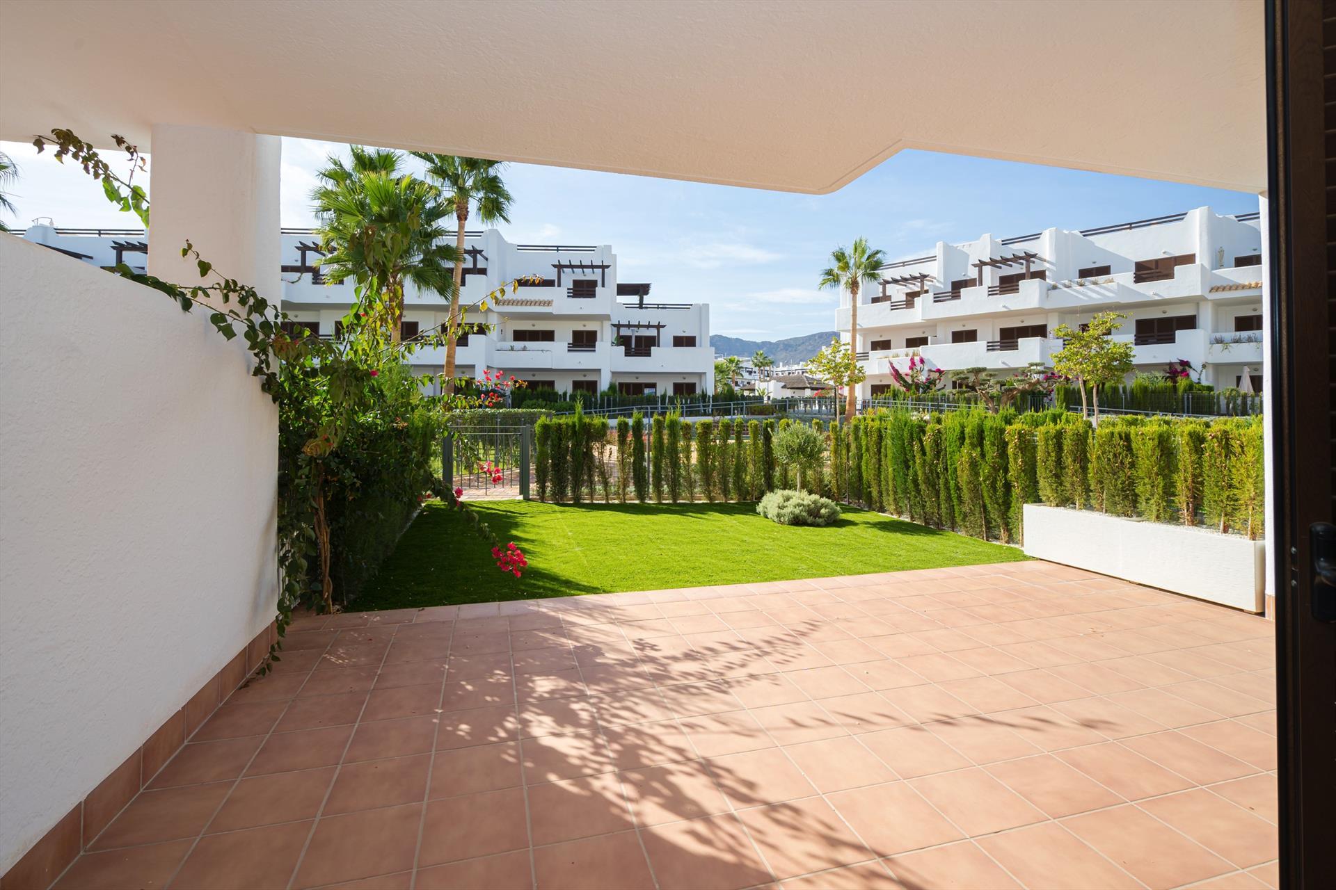 Kokopelli,Wonderful apartment in San Juan de los Terreros, Andalusia, Spain  with communal pool for 4 persons.....