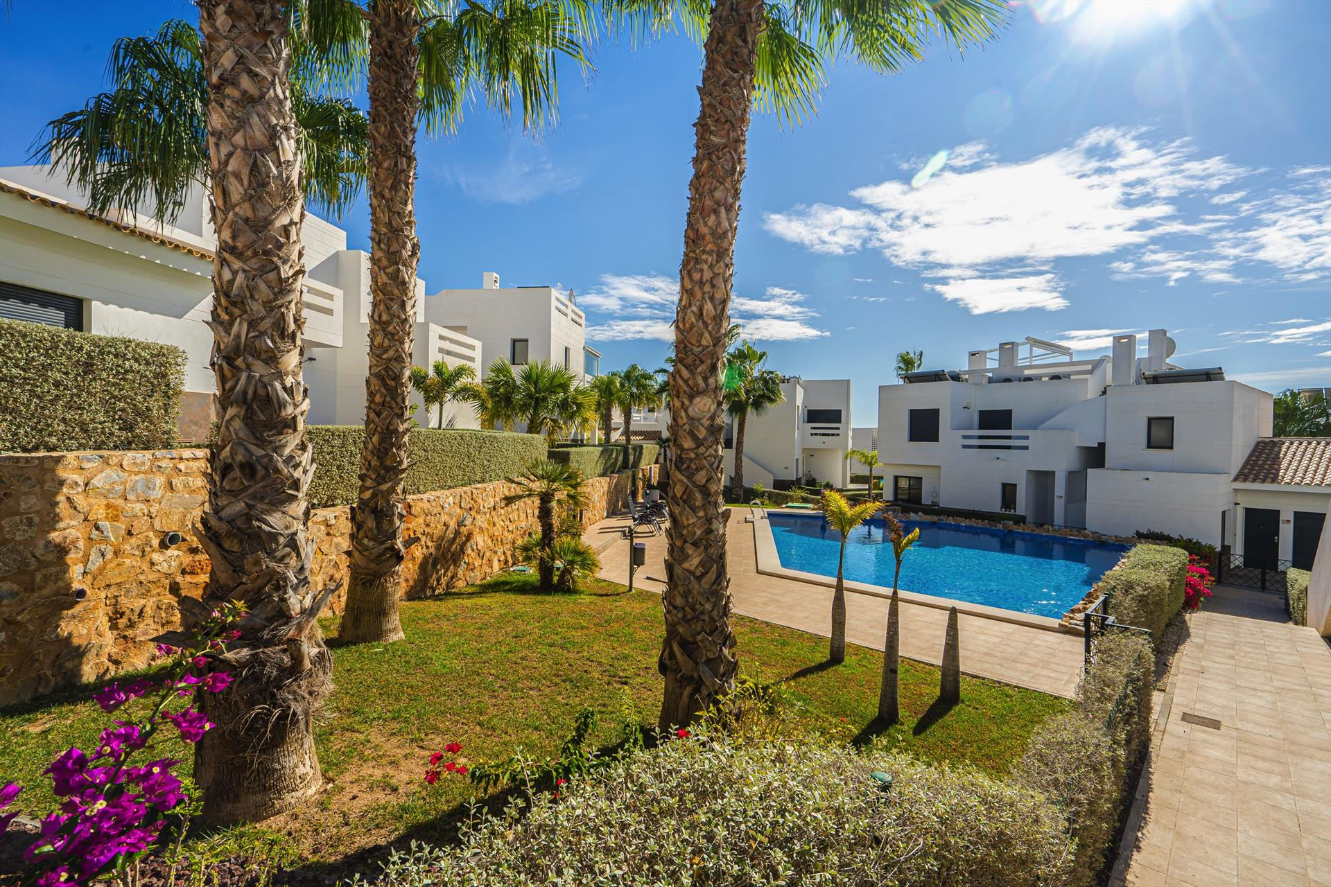 Maya,Modern apartment in Orihuela Costa, on the Costa Blanca, Spain  with communal pool for 4 persons.....
