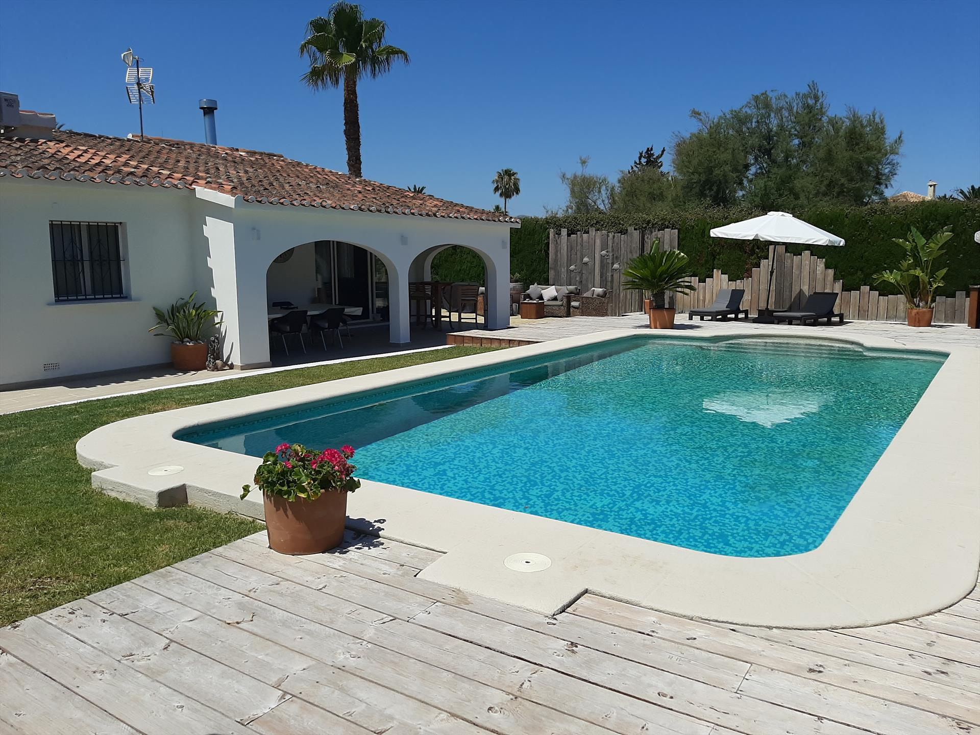Coral, Modern and comfortable villa  with private pool in Denia, on the Costa Blanca, Spain for 6 persons...