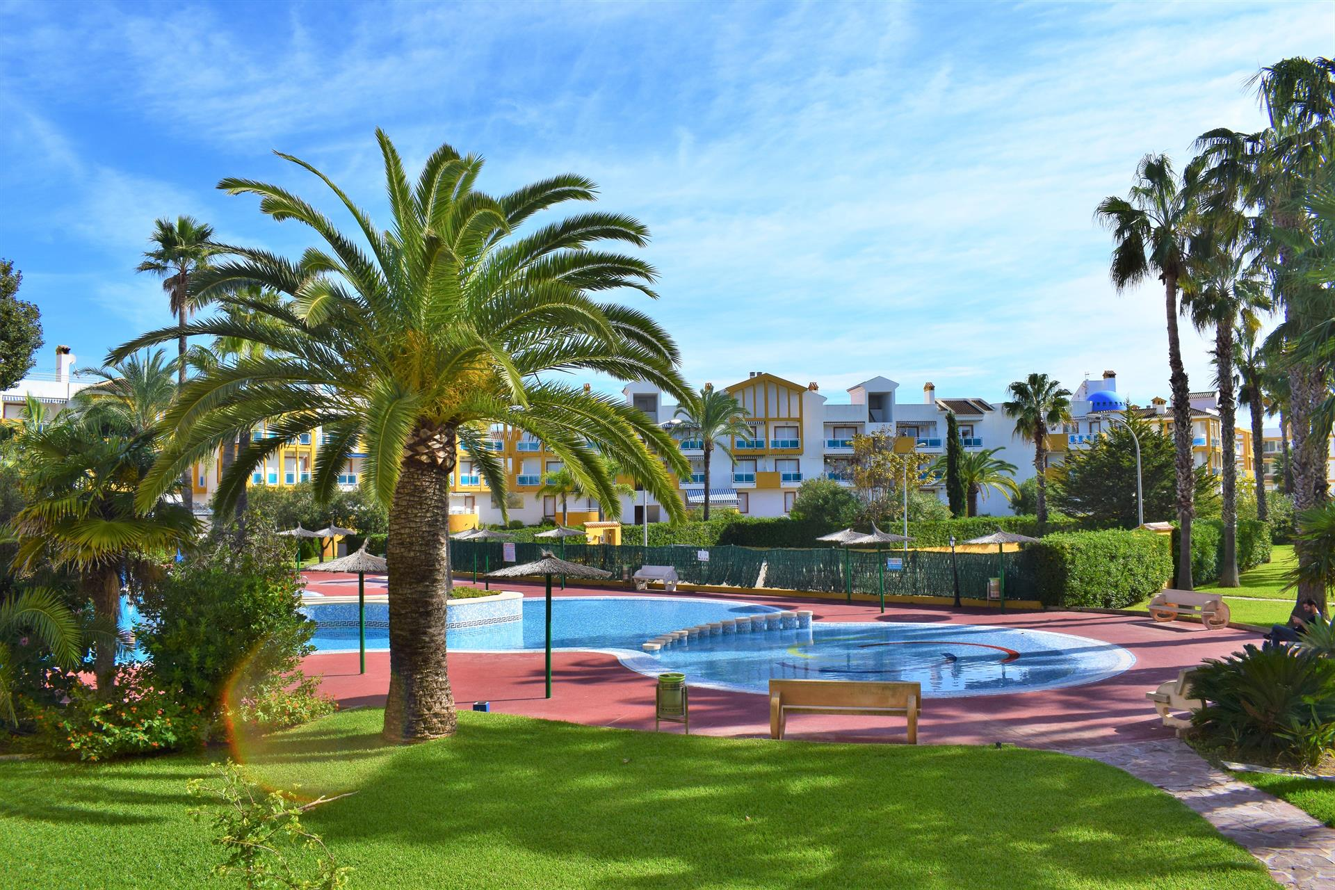 Las Dunas de San Fernando Oliva Nova AP270, Classic and nice apartment  with communal pool in Oliva, on the Costa Blanca, Spain for 4 persons.....