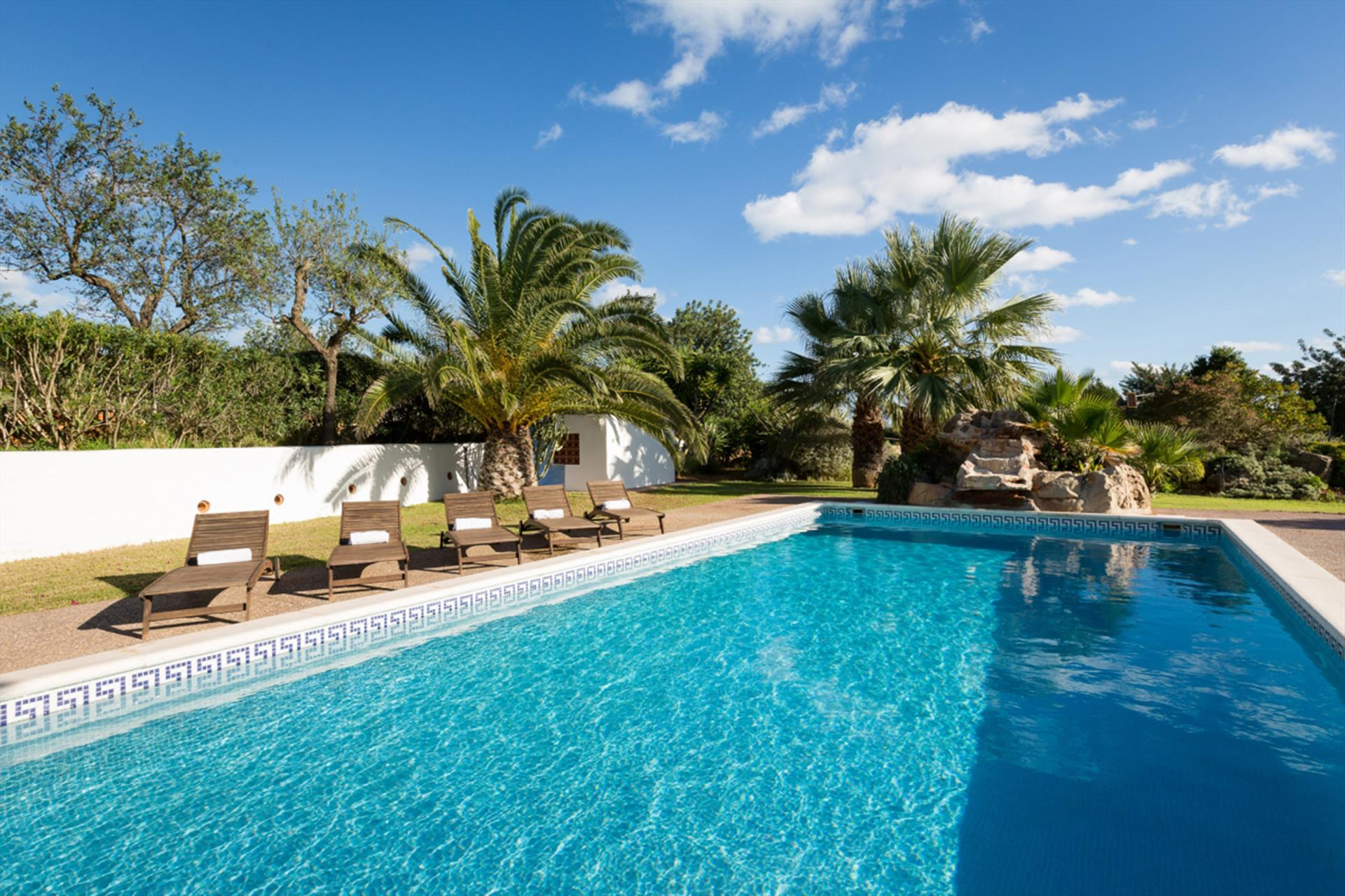 Palles, Villa in Santa Eulalia, Ibiza, Spain  with private pool for 13 persons...