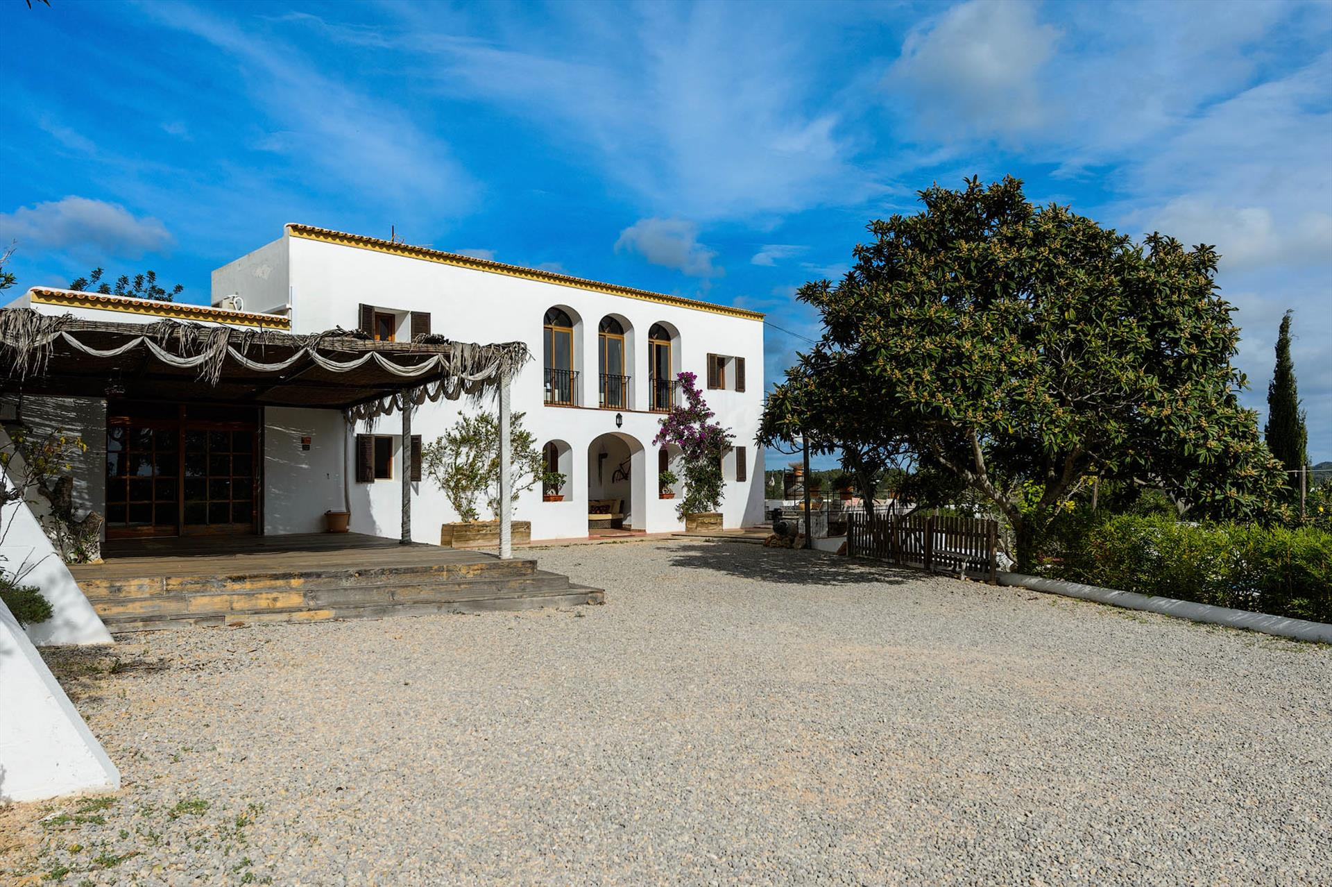 Pranaya, Large and classic villa in Santa Gertrudis, Ibiza, Spain  with private pool for 12 persons...