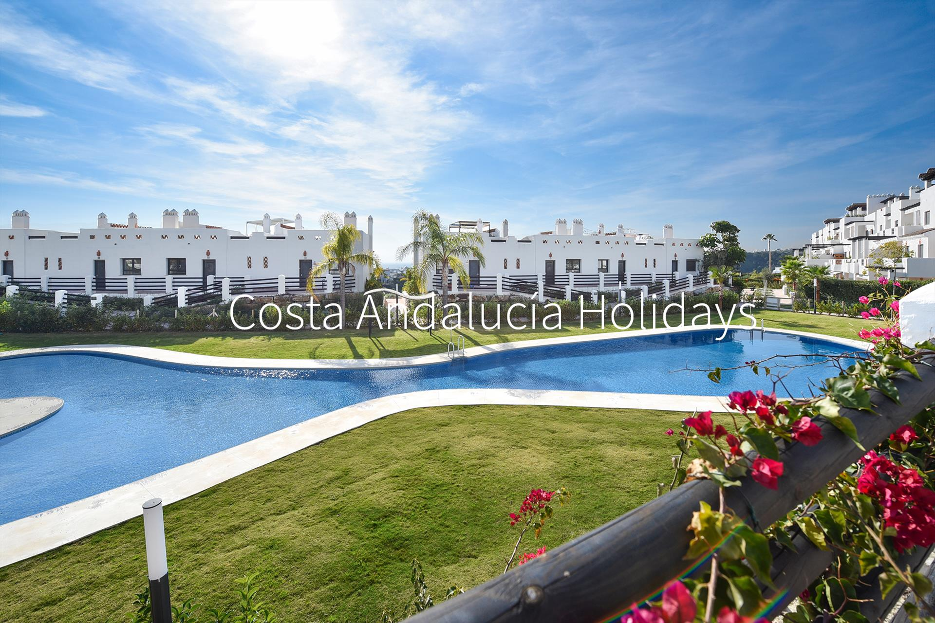 Sunset Golf 5C, Wonderful and comfortable apartment in Estepona, Andalusia, Spain for 4 persons.....