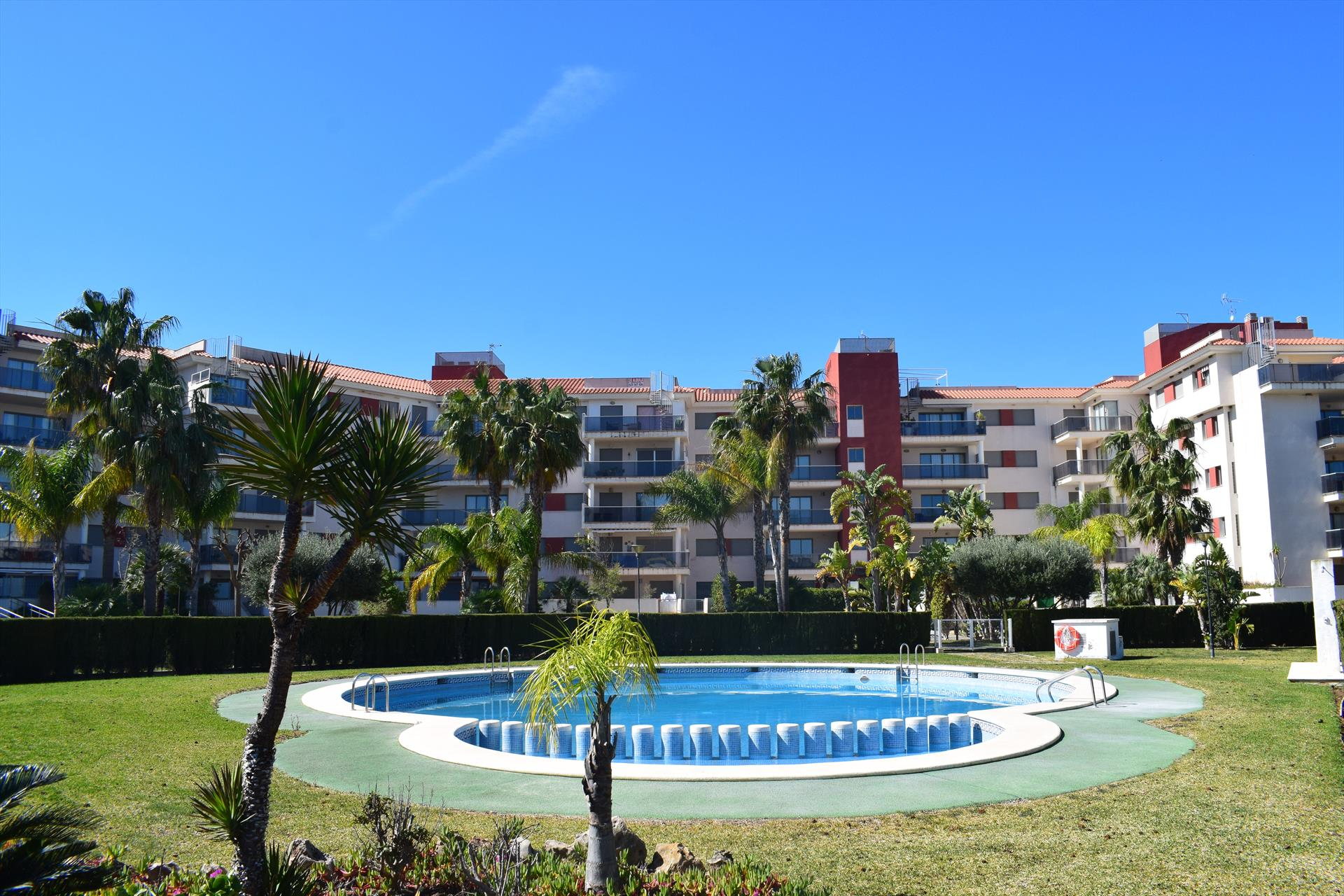 Denia Nature El Verger AP2224, Modern and comfortable apartment in Denia, on the Costa Blanca, Spain  with communal pool for 5 persons.....