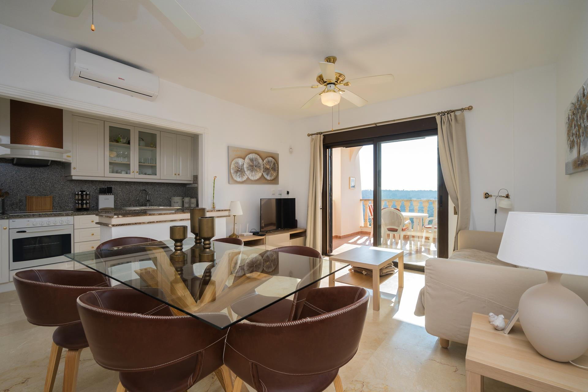 Altamira,Wonderful apartment in Orihuela Costa, on the Costa Blanca, Spain  with communal pool for 4 persons.....