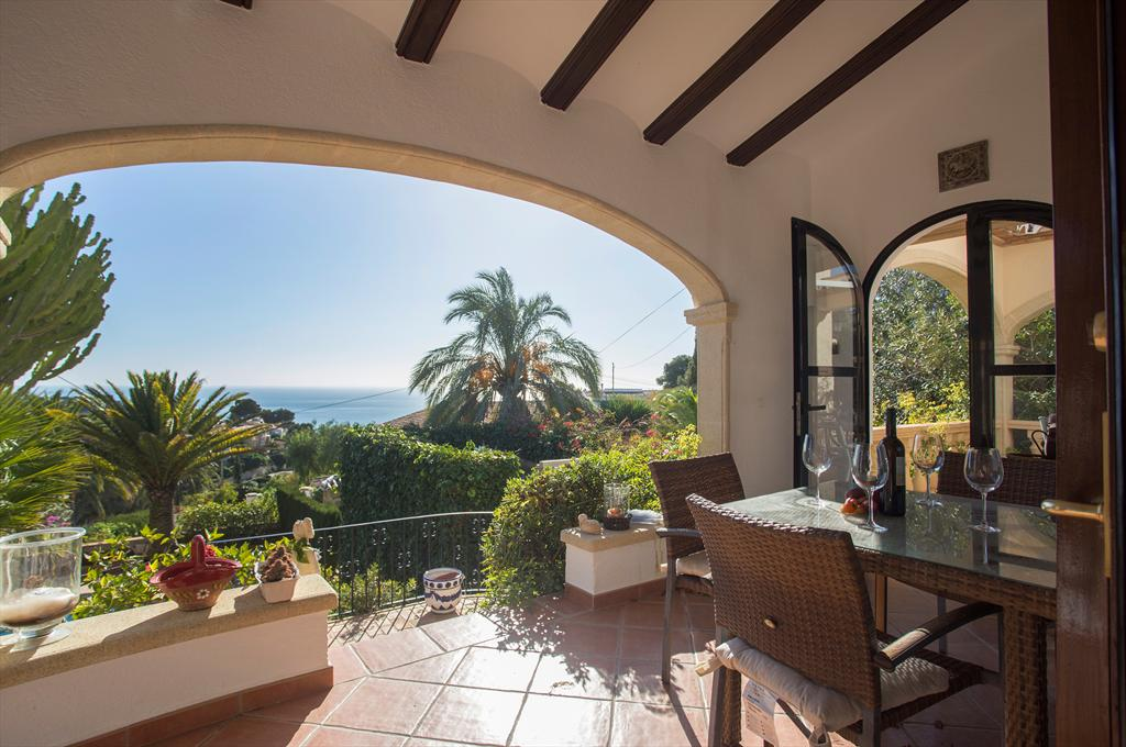 Acuarela Vistas 4 pax, Classic and comfortable villa  with private pool in Javea, on the Costa Blanca, Spain for 4 persons...