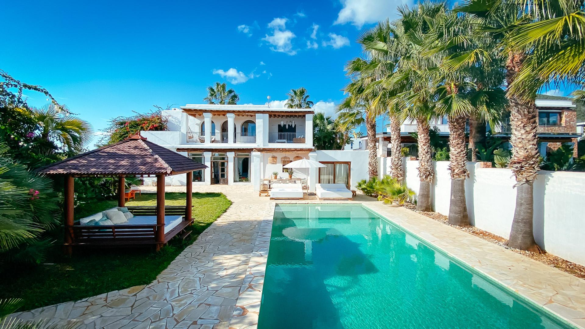 The Secret,Villa  met privé zwembad in Sa Carroca, op Ibiza, Spanje voor 12 personen...
