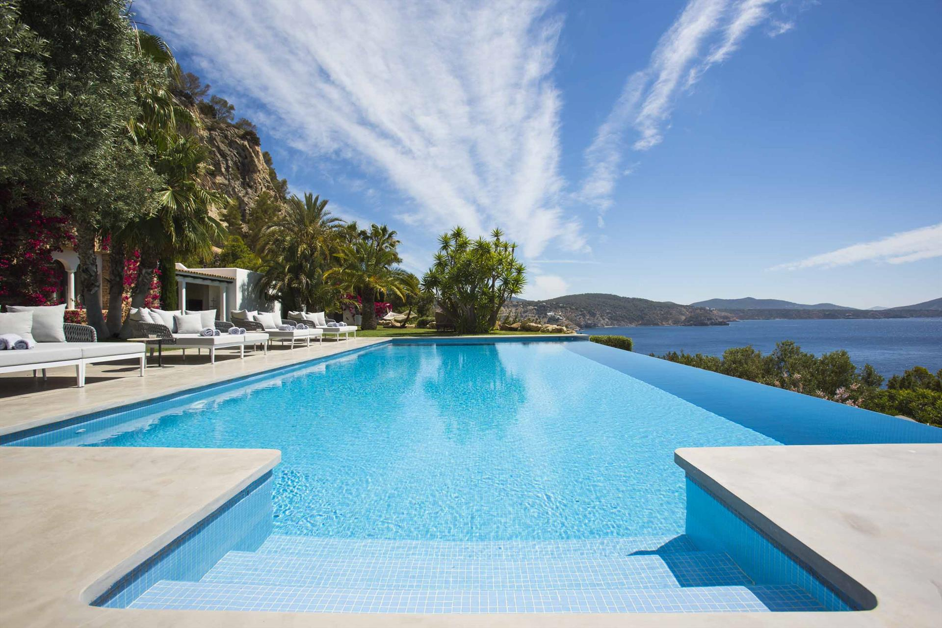 Villa Ladia, Luxury villa  with private pool in Es Cubells, Ibiza, Spain for 12 persons...