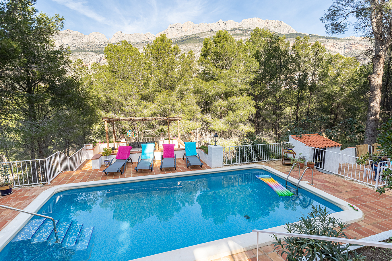 Casa Principes, Villa  with private pool in Altea, on the Costa Blanca, Spain for 8 persons.....