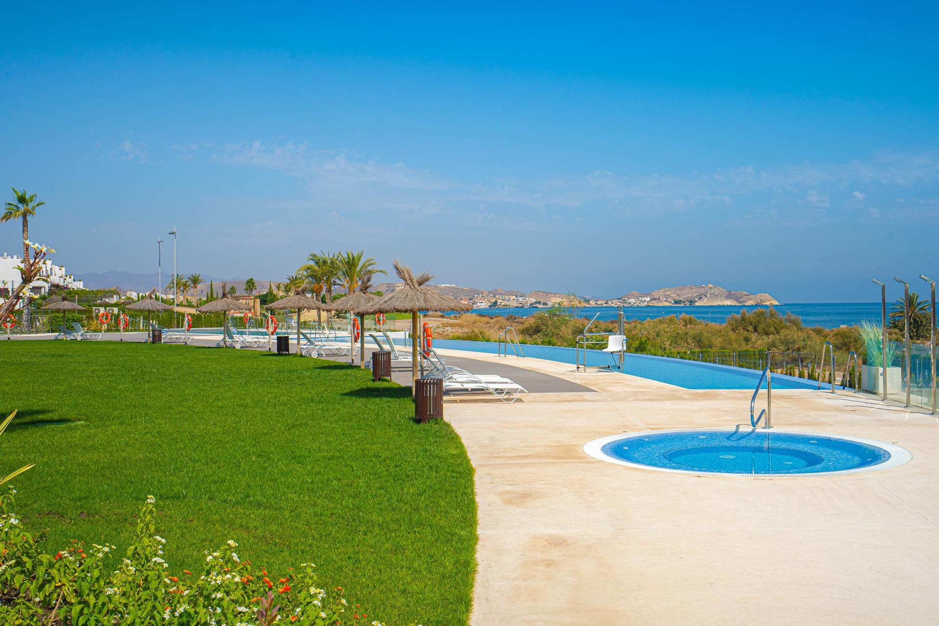 Casa del Sol,Lovely apartment in San Juan de los Terreros, Andalusia, Spain  with communal pool for 4 persons.....