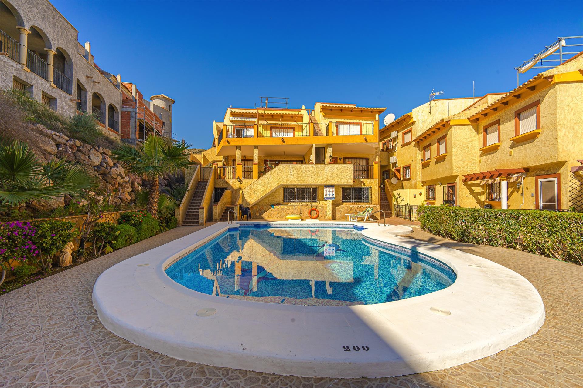 Calon,Rustic apartment in San Juan de los Terreros, Andalusia, Spain  with communal pool for 4 persons.....