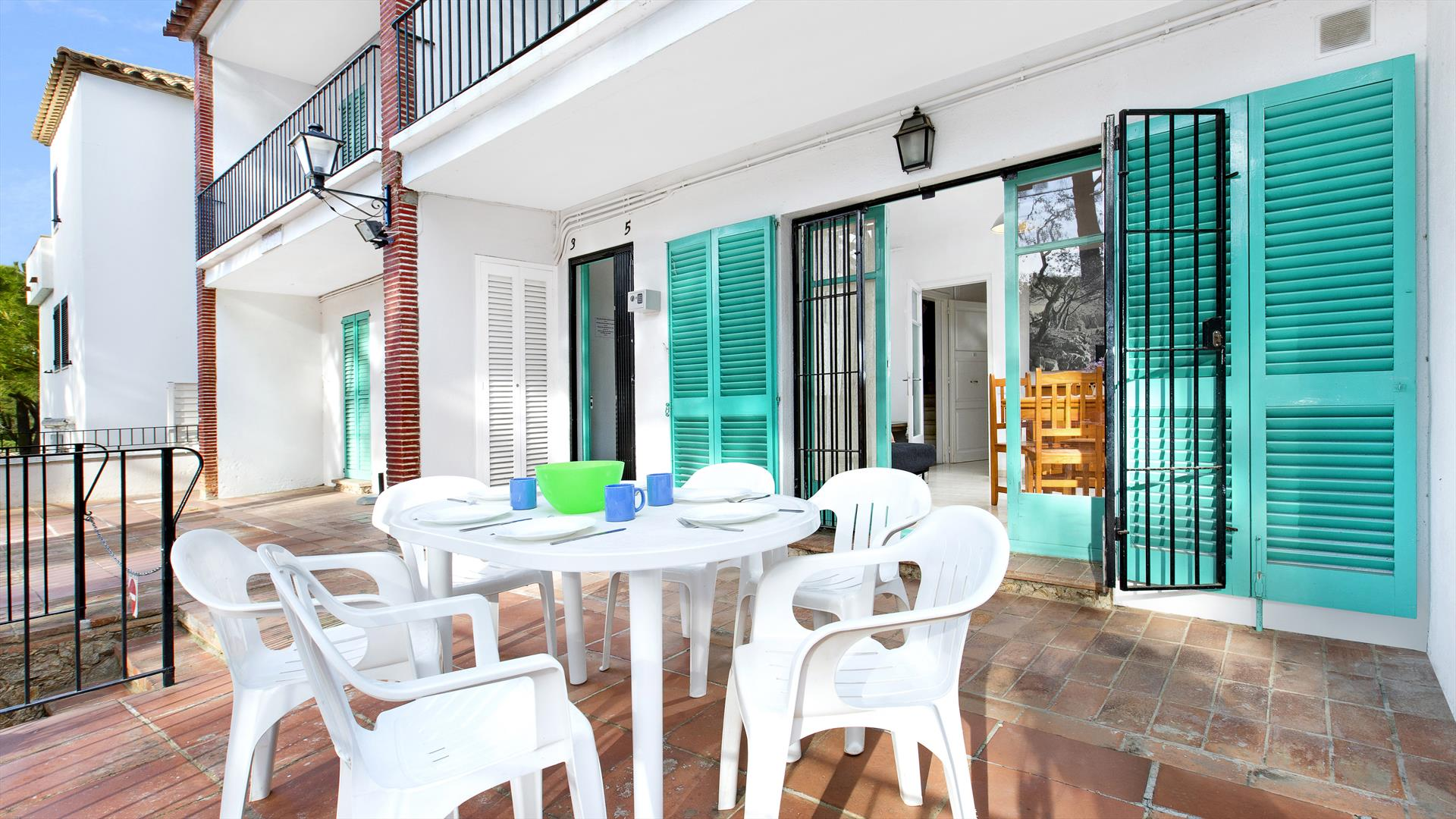 Rosa 1, Apartment in Llafranc, on the Costa Brava, Spain for 6 persons...