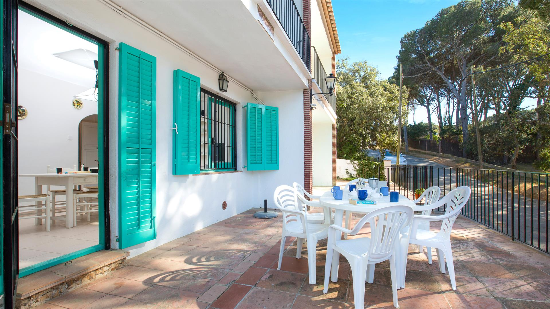 Rosa 2, Apartment in Llafranc, on the Costa Brava, Spain for 6 persons...