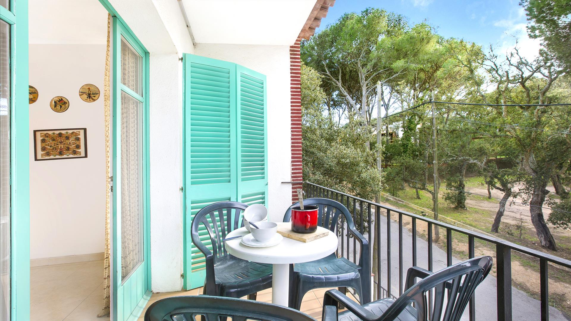 Rosa 3, Apartment in Llafranc, on the Costa Brava, Spain for 6 persons...