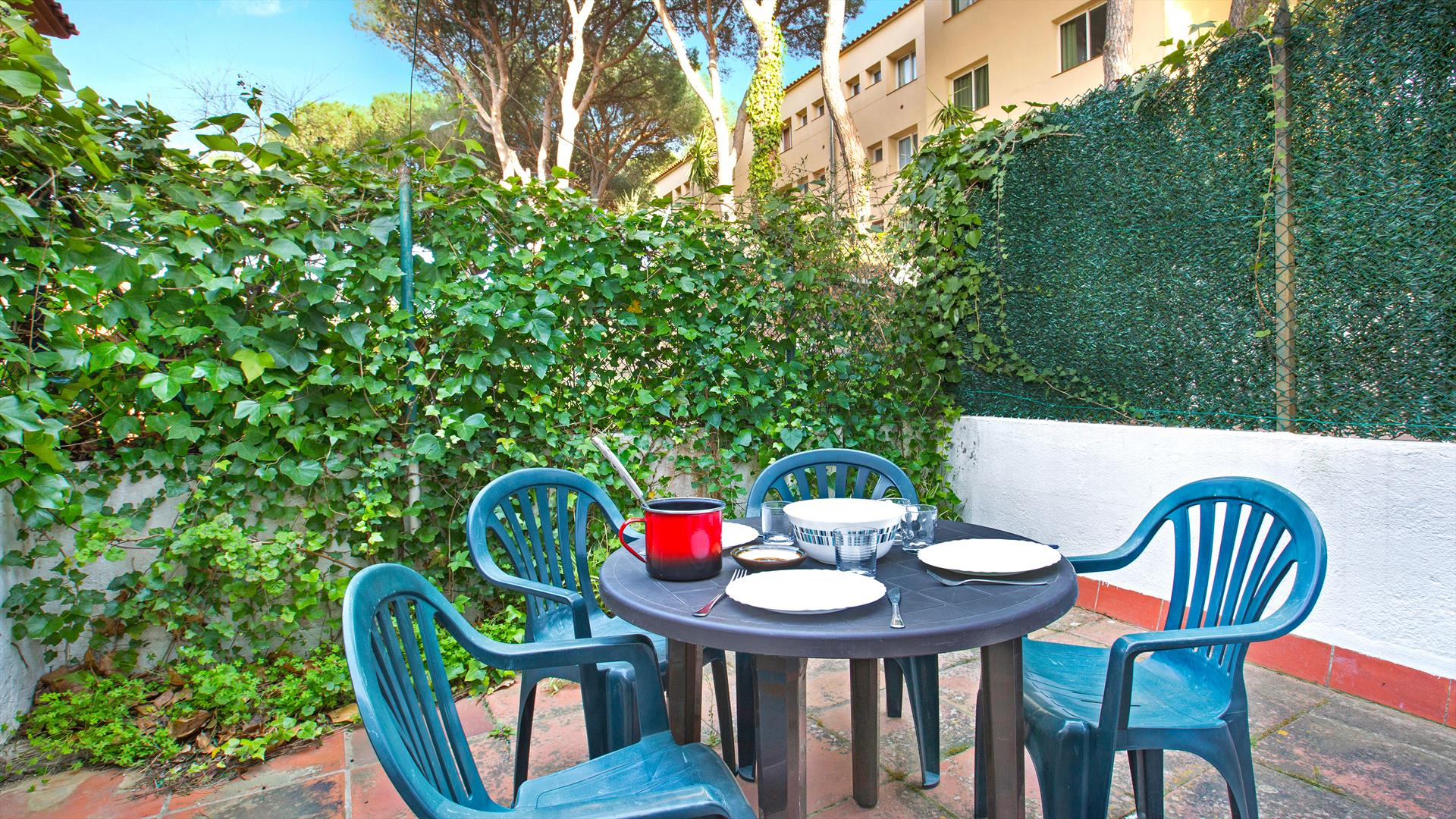 Rosa 4, Apartment in Llafranc, on the Costa Brava, Spain for 5 persons...
